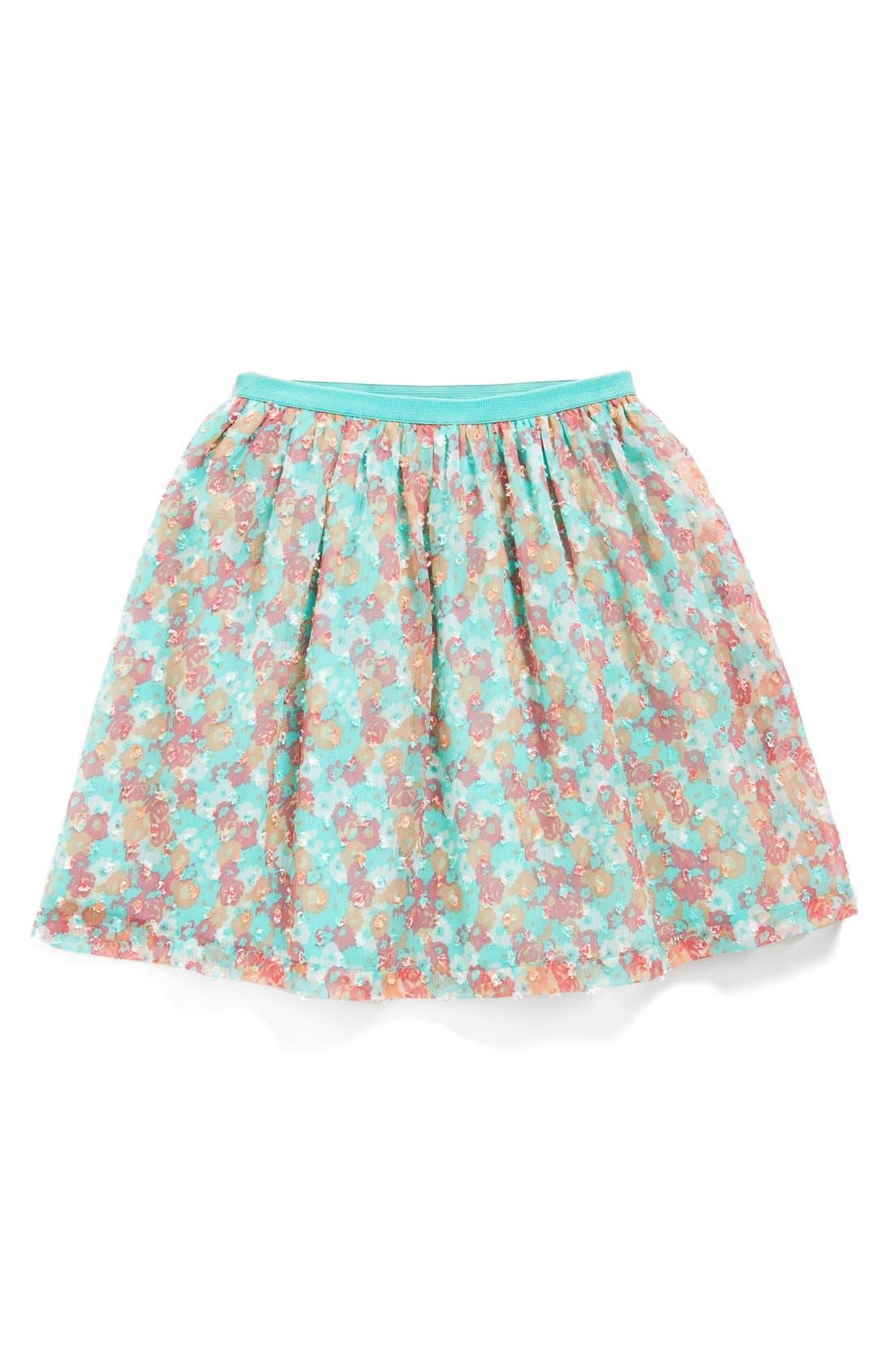 Alternate Image 1 Selected - Ruby & Bloom 'Miranda' Georgette Skirt (Big Girls)