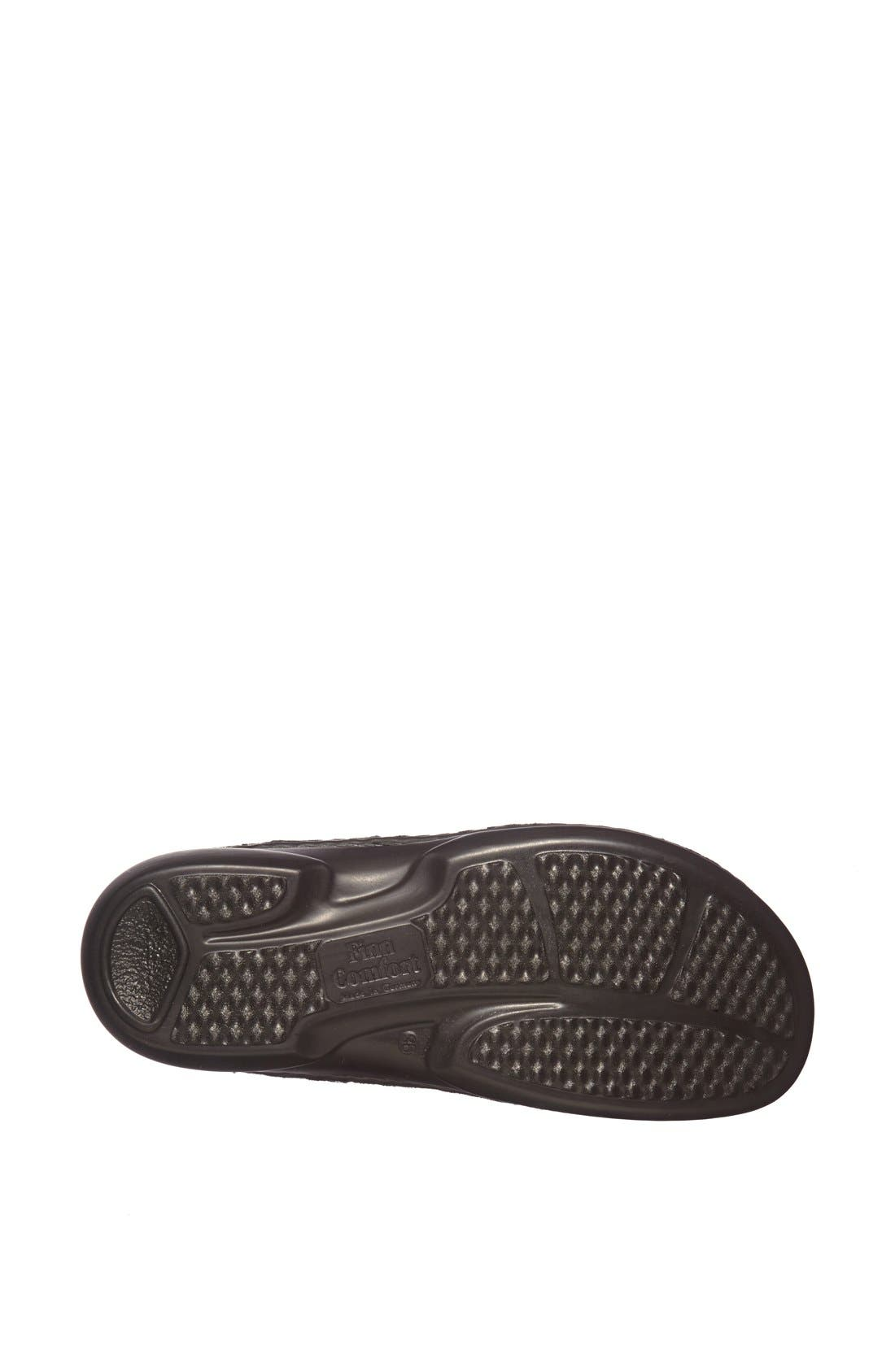 'Gomera' Sandal,                             Alternate thumbnail 4, color,                             Black