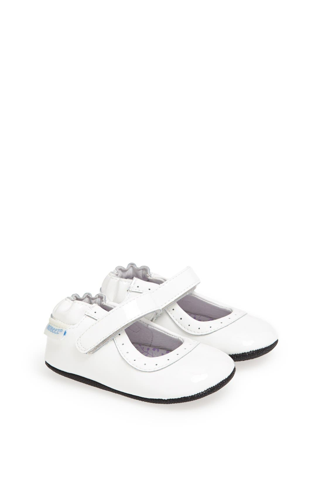Alternate Image 1 Selected - Robeez® 'Mini Shoez - Gracie' Mary Jane (Baby & Walker)
