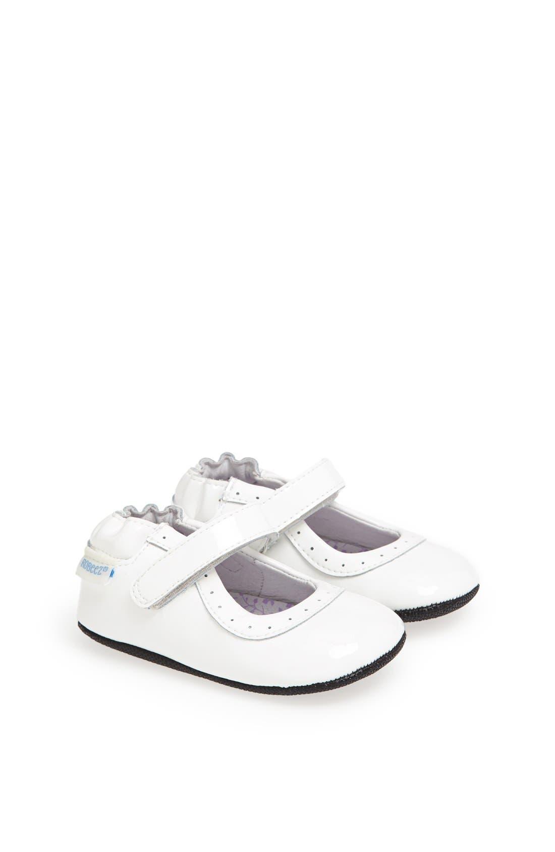 Main Image - Robeez® 'Mini Shoez - Gracie' Mary Jane (Baby & Walker)
