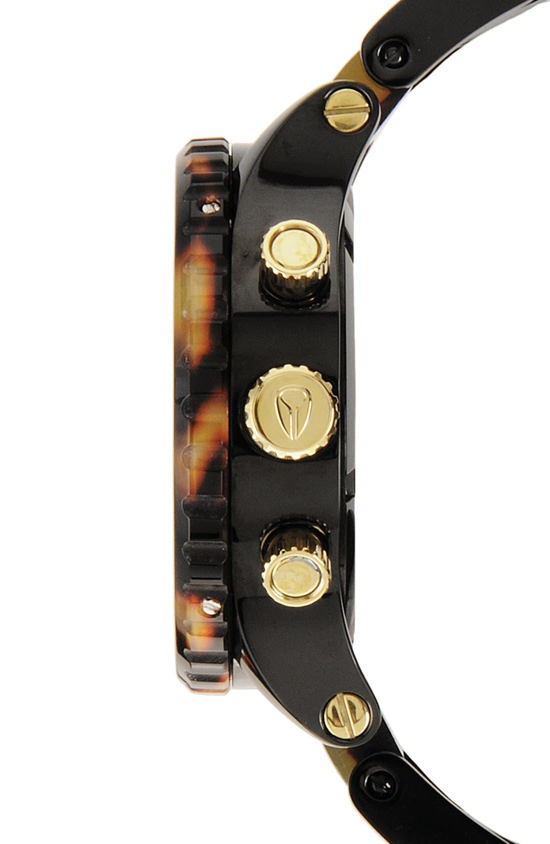 'The 42-20 Chrono' Watch, 42mm,                             Alternate thumbnail 2, color,                             Black/Tort