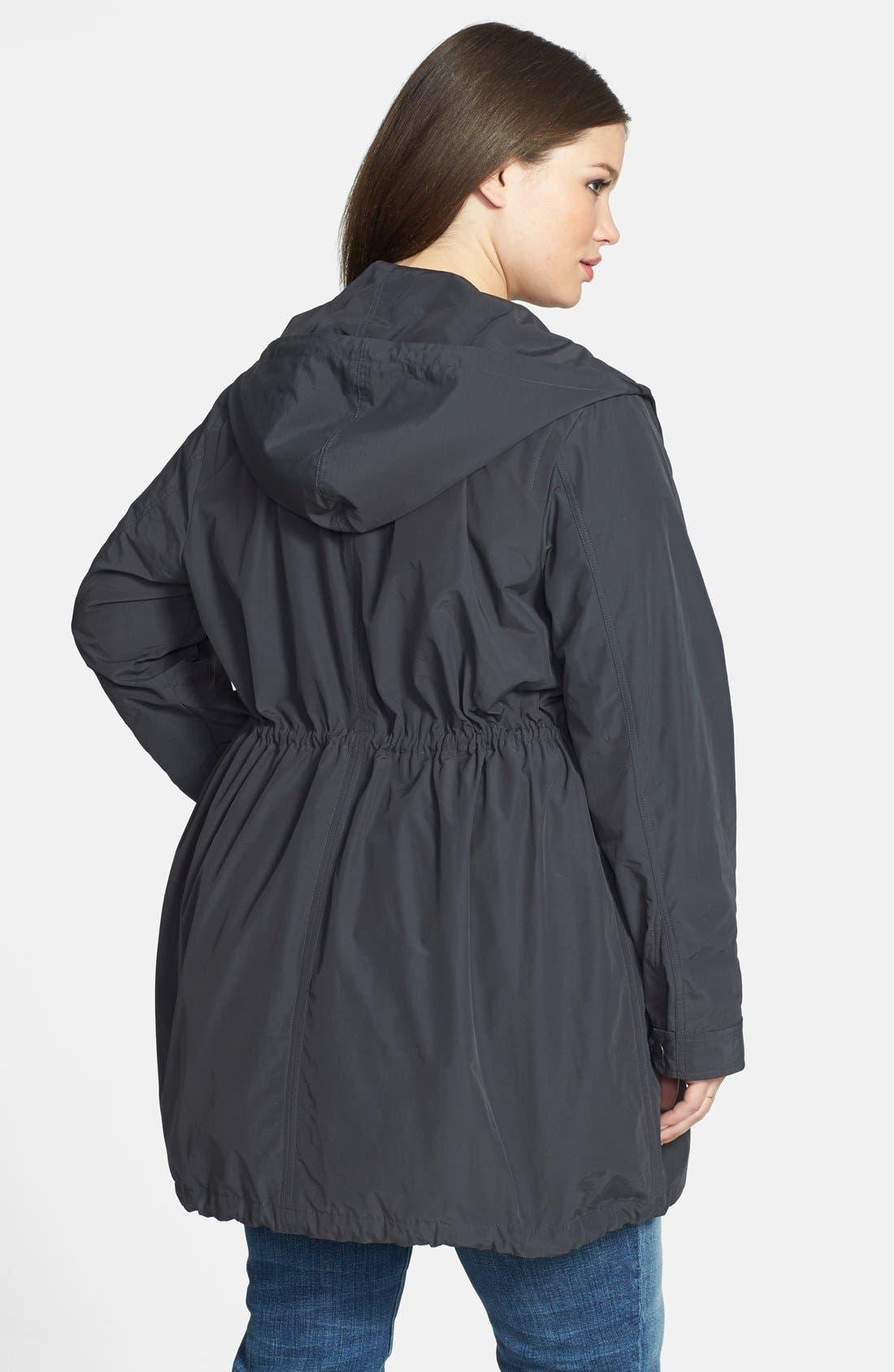 Alternate Image 2  - Eileen Fisher Hooded Jacket (Plus Size)