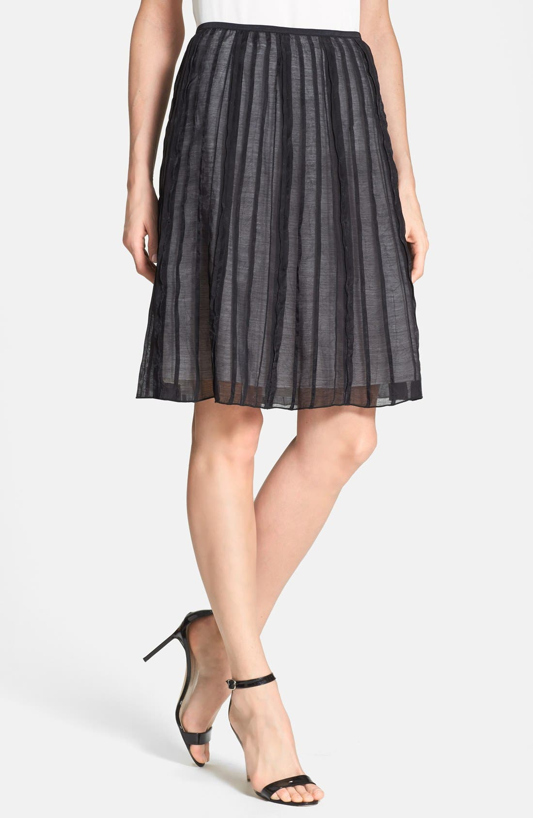 Alternate Image 1 Selected - NIC+ZOE 'Batiste Flirt' Skirt (Regular & Petite)