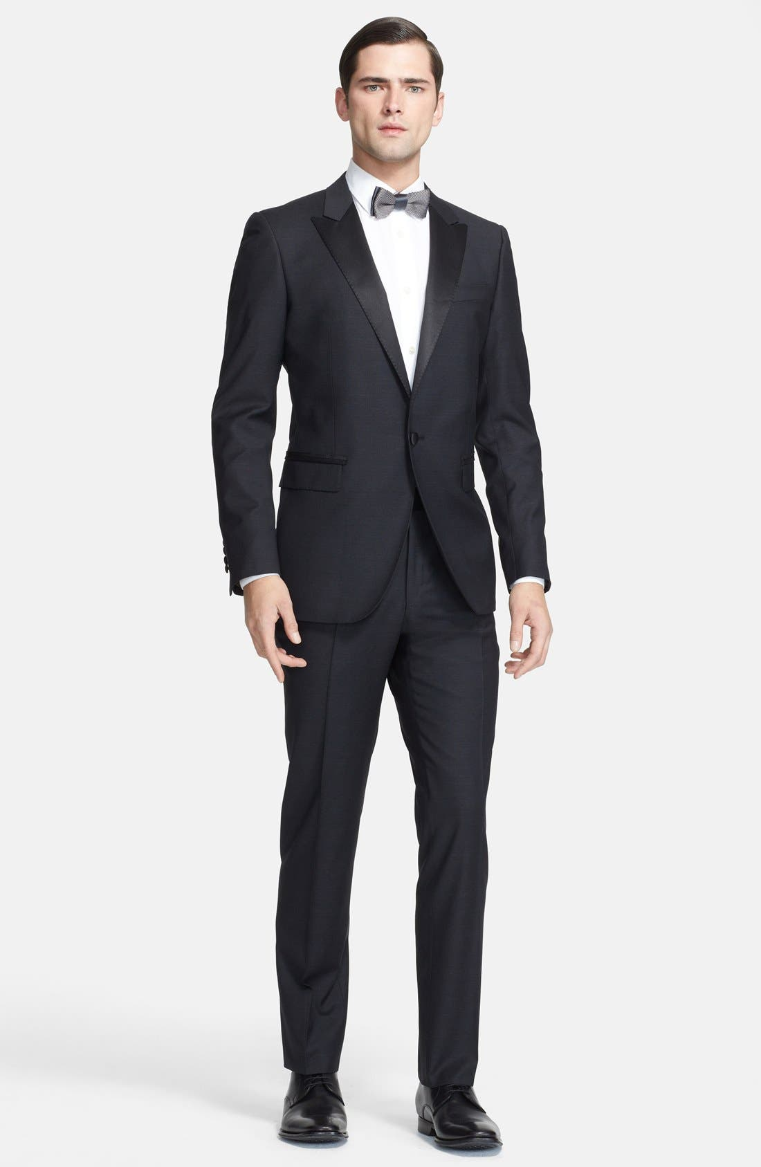 Alternate Image 1 Selected - Lanvin 'Attitude' Black Wool Tuxedo