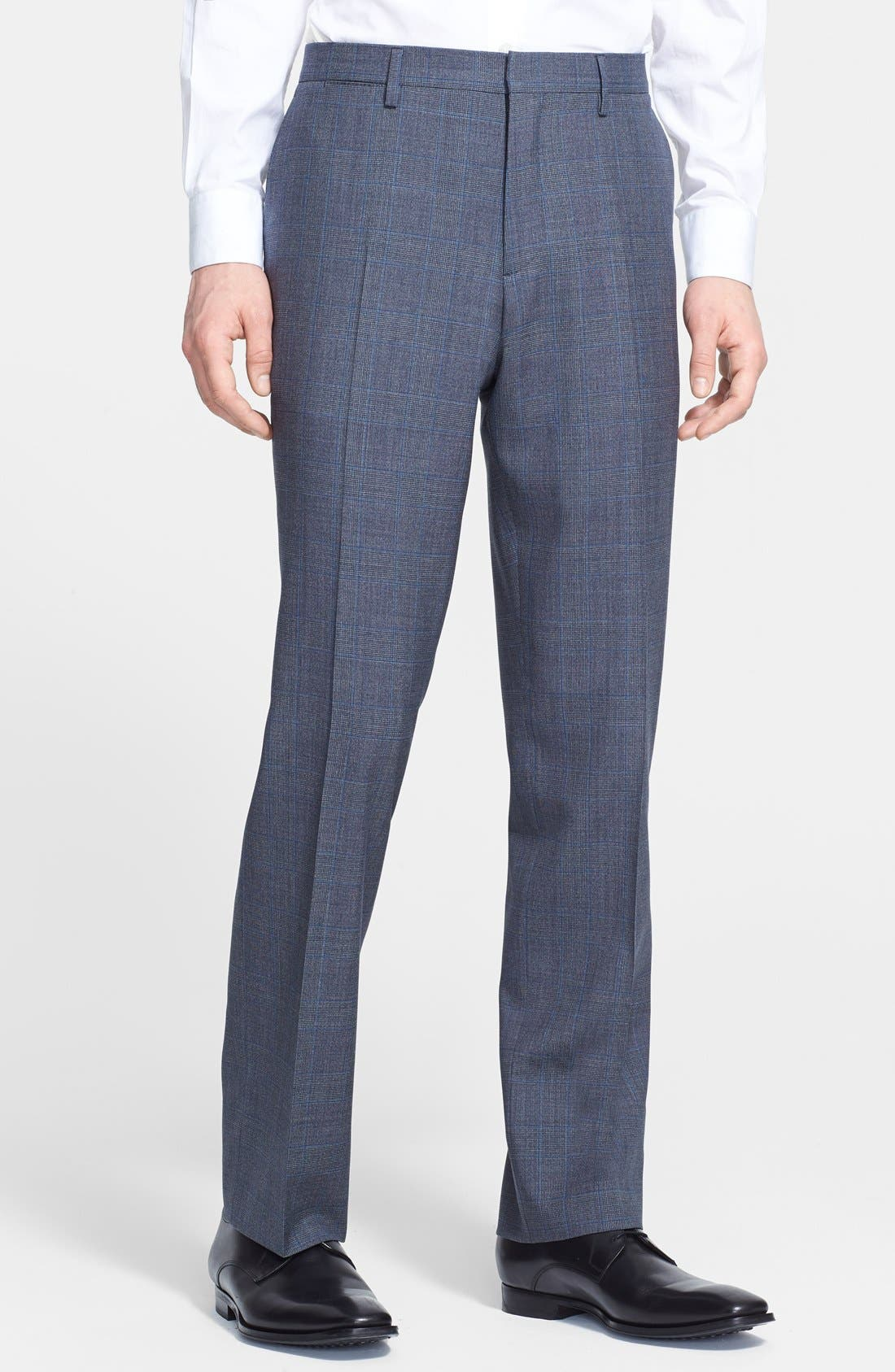 Alternate Image 4  - Burberry London 'Canbury' Glen Plaid Virgin Wool Suit