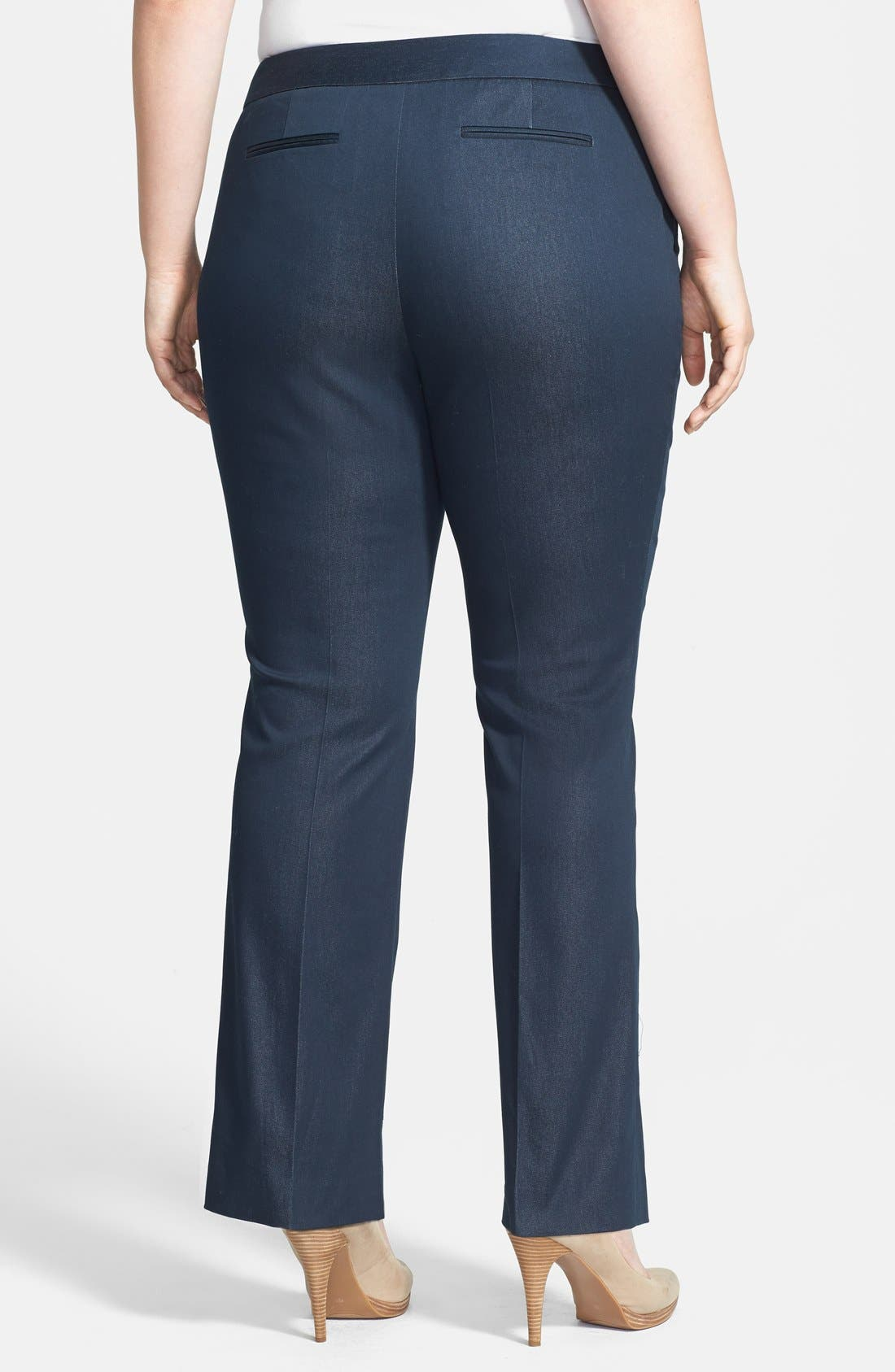 Alternate Image 2  - Vince Camuto Straight Leg Pants (Plus Size)