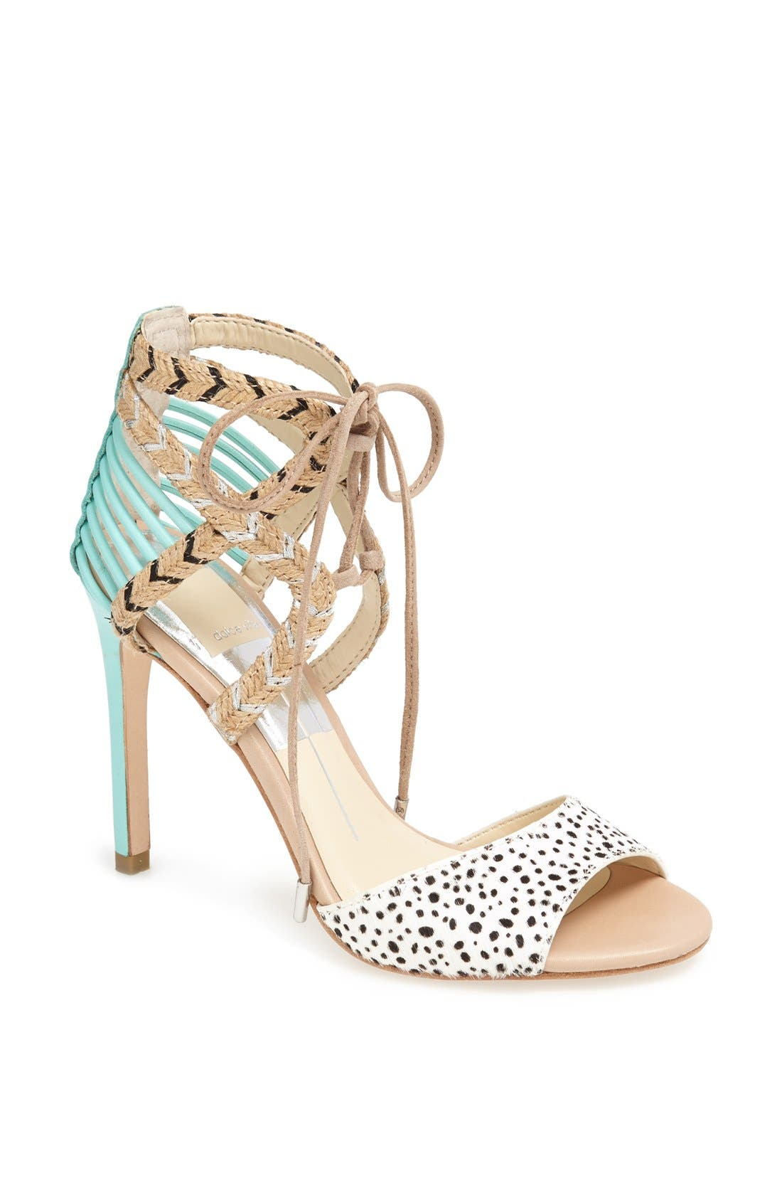 Main Image - Dolce Vita 'Hexen' Lace-Up Ankle Strap Sandal