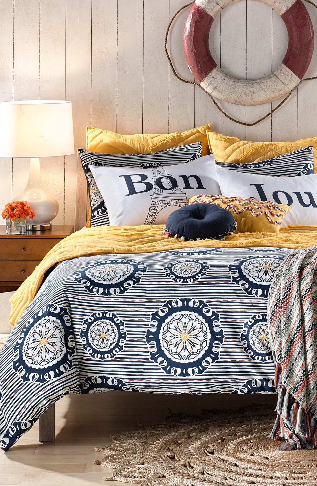Alternate Image 2  - Levtex 'Bon/Jour' Pillowcase Set