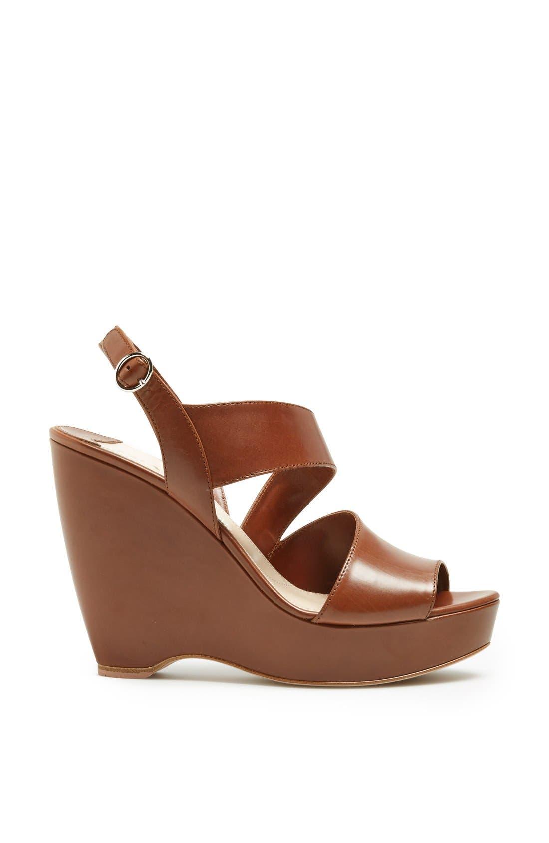 Alternate Image 4  - Prada Asymmetrical Wedge Sandal