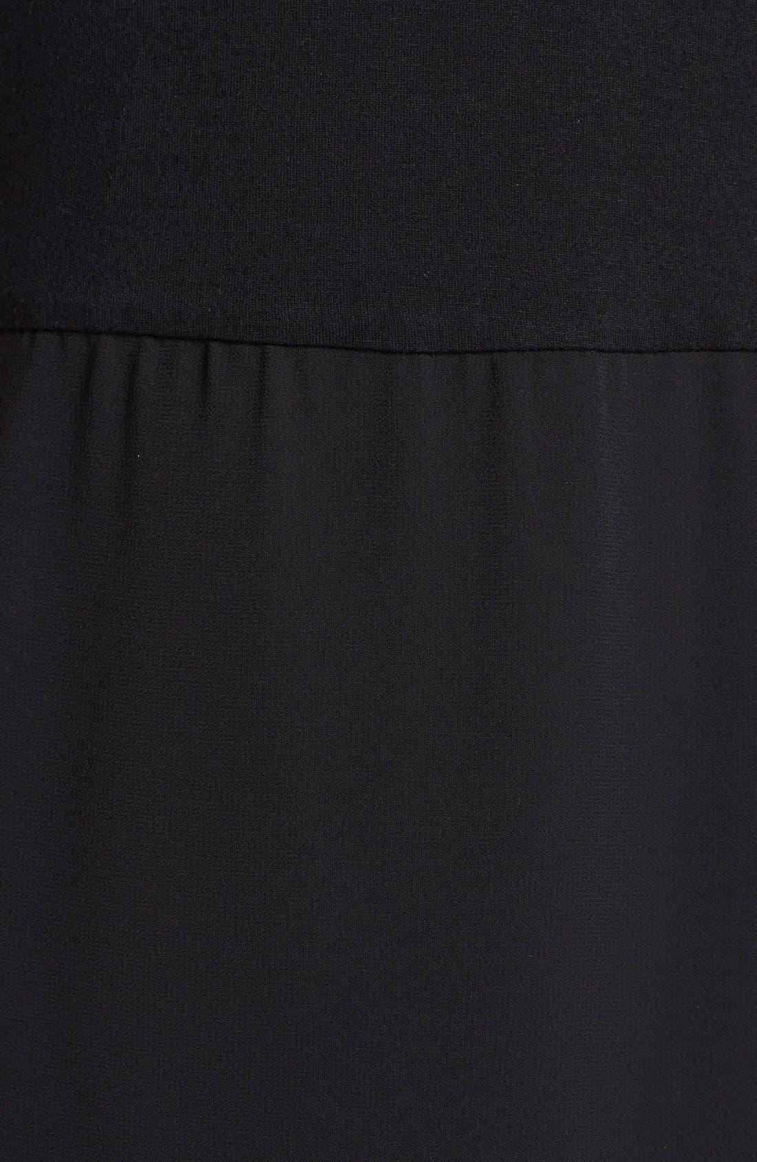 Alternate Image 3  - Vince Camuto Chiffon Overlay Tank Maxi Dress (Petite)