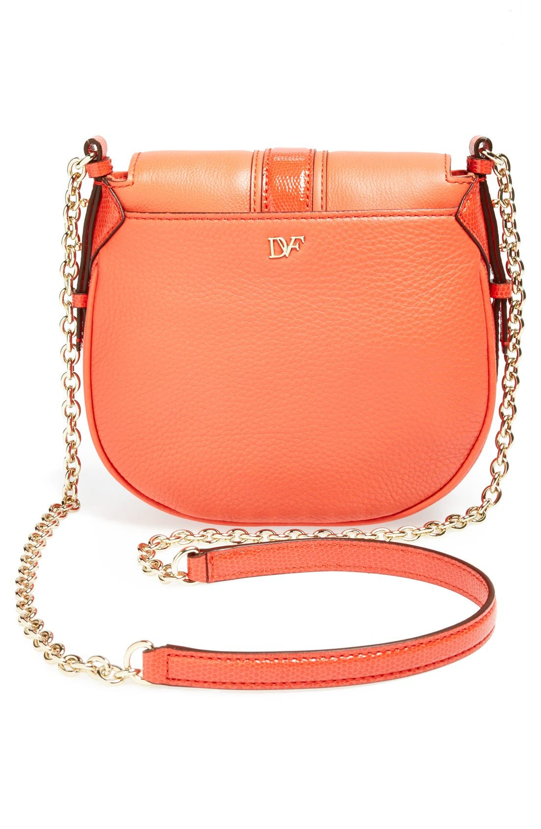 Alternate Image 4  - Diane von Furstenberg 'Sutra - Mini' Leather Crossbody Bag