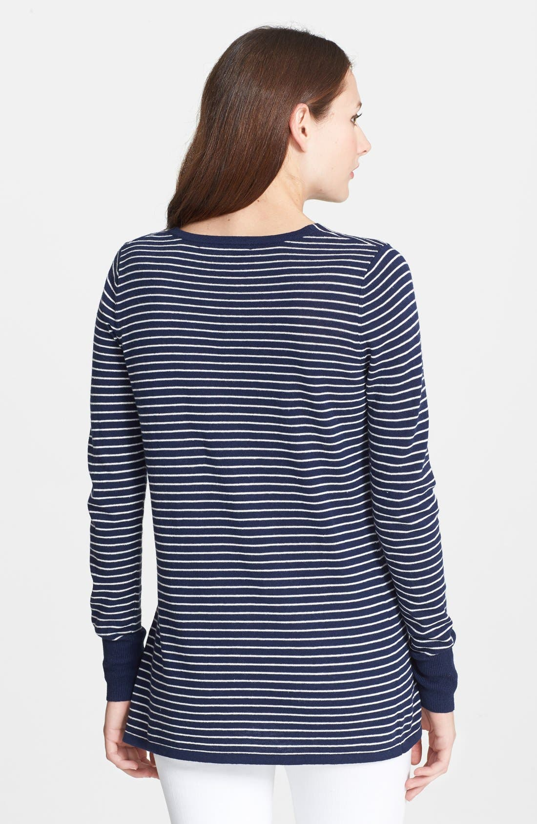 Alternate Image 2  - Rachel Roy Stripe V-Neck Top