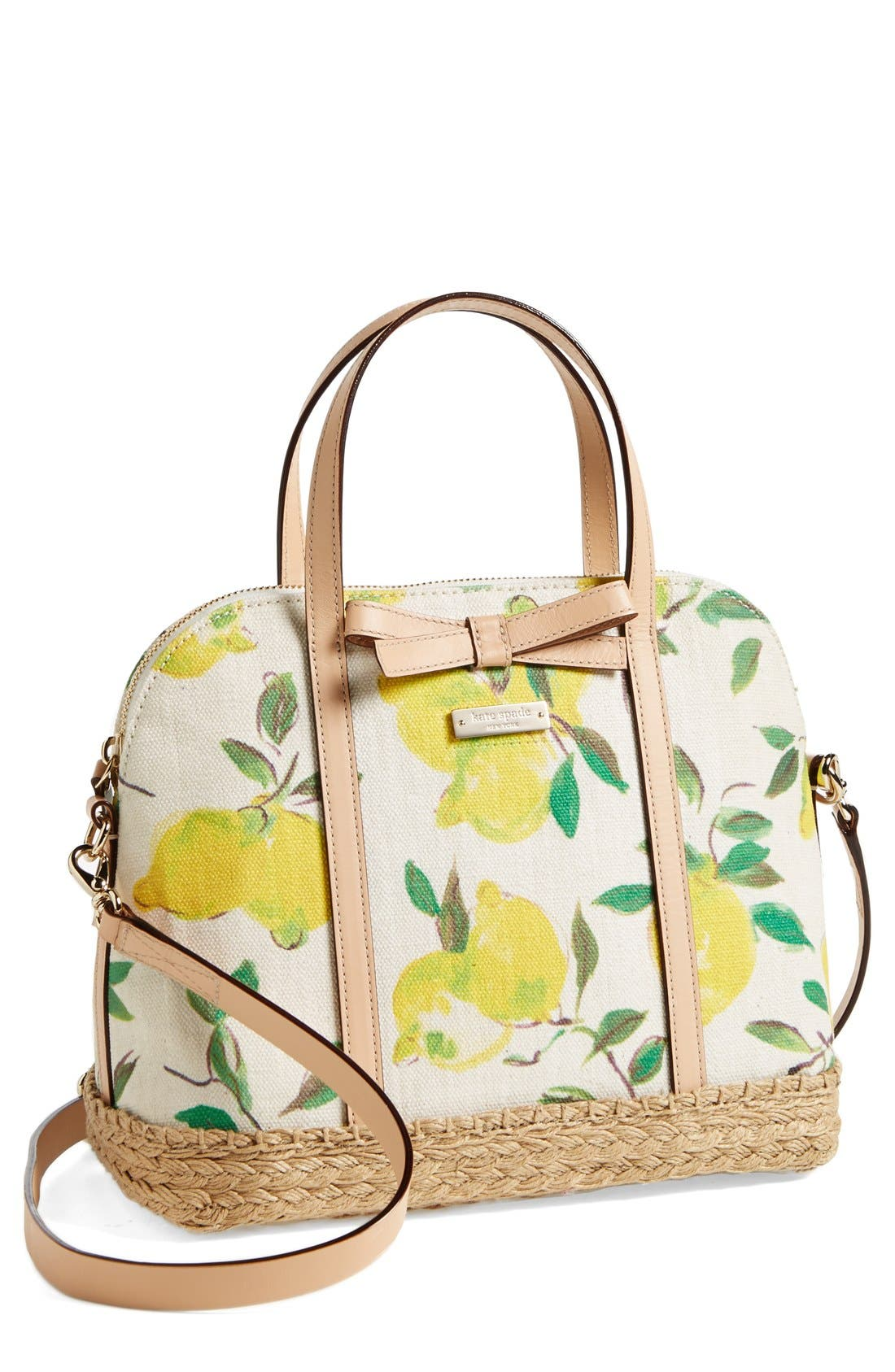Alternate Image 1 Selected - kate spade new york 'maise - espadrille' satchel