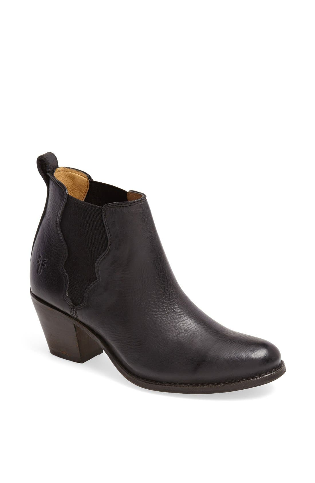 Main Image - Frye 'Jackie' Leather Ankle Boot (Women)