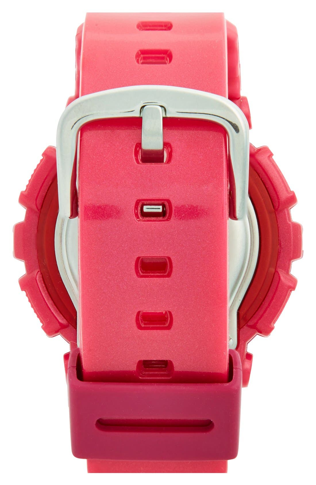 Alternate Image 2  - Baby-G Round Ana-Digi Watch, 43mm