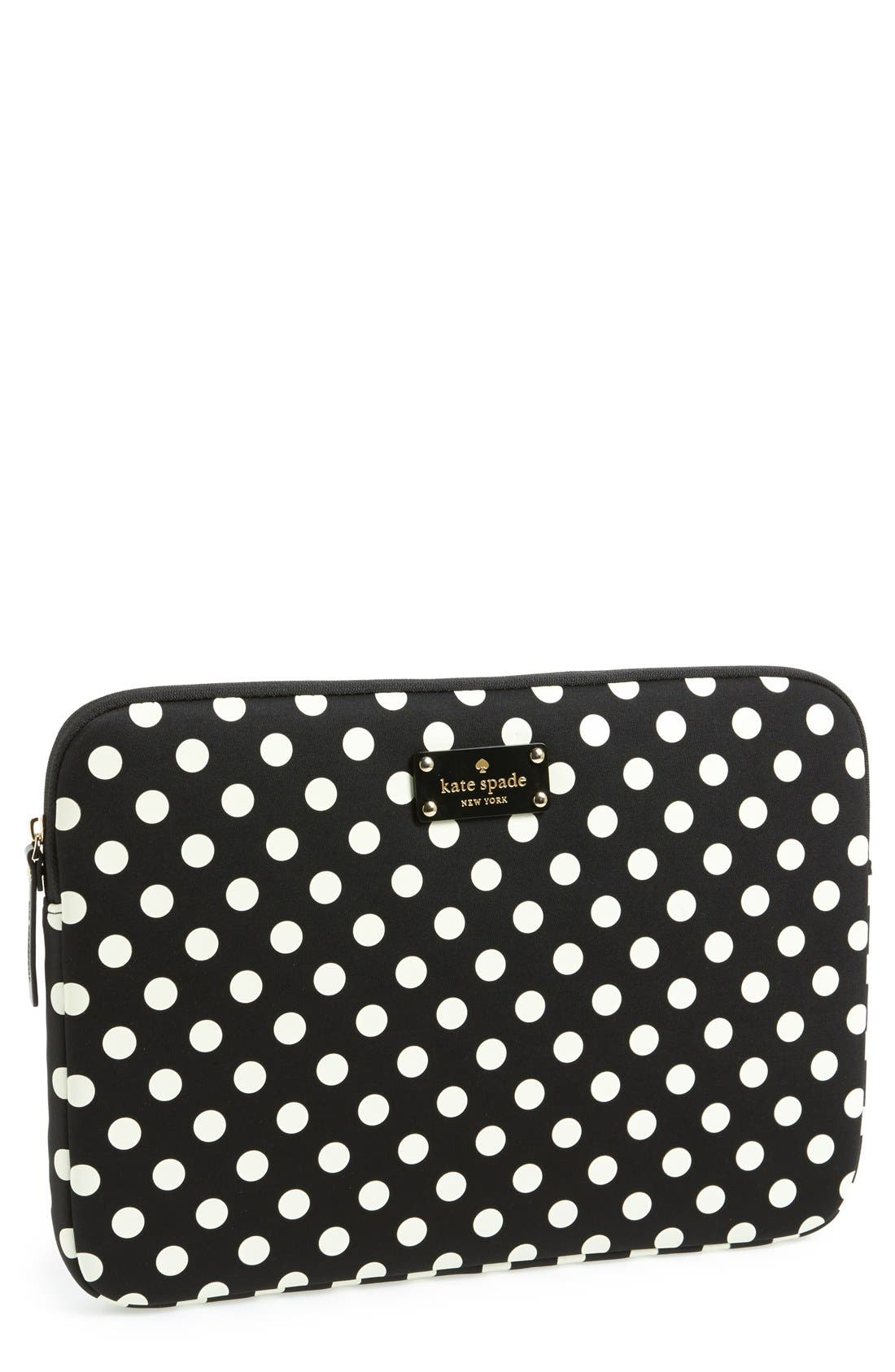 Main Image - kate spade new york 'la pavillion' laptop sleeve (13 Inch)