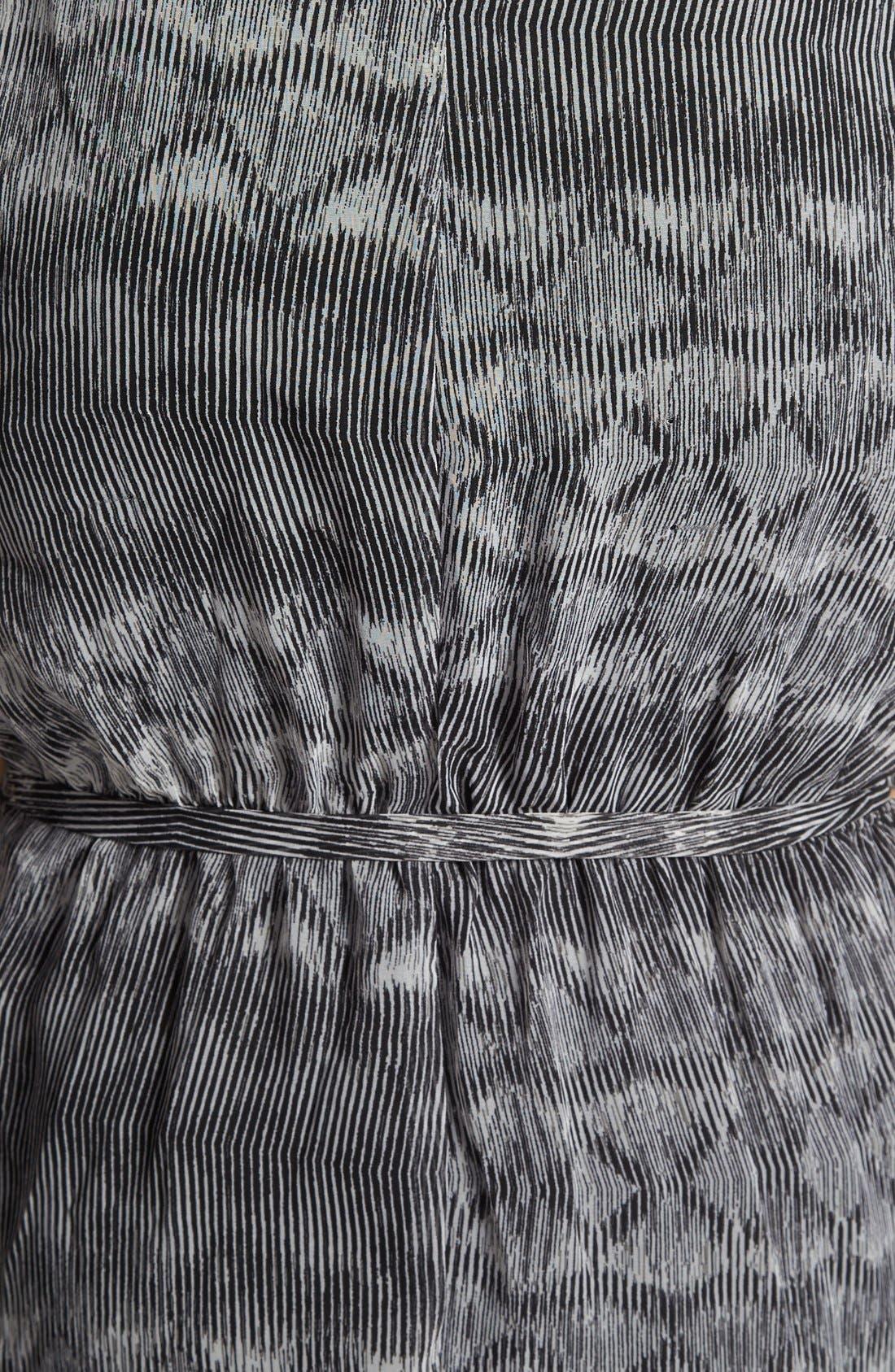 Alternate Image 3  - Olive & Oak Tie Waist Print Maxi Dress
