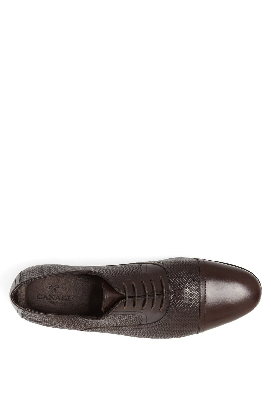 Alternate Image 3  - Canali Cap Toe Oxford (Men)