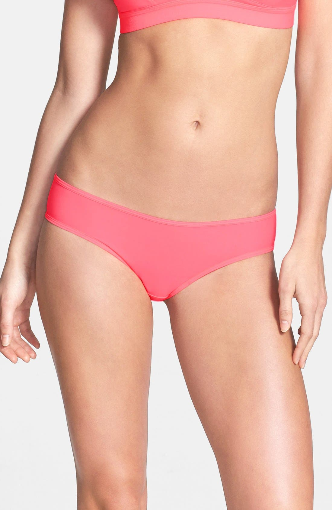 Alternate Image 1 Selected - Splendid Ruched Mesh Bikini