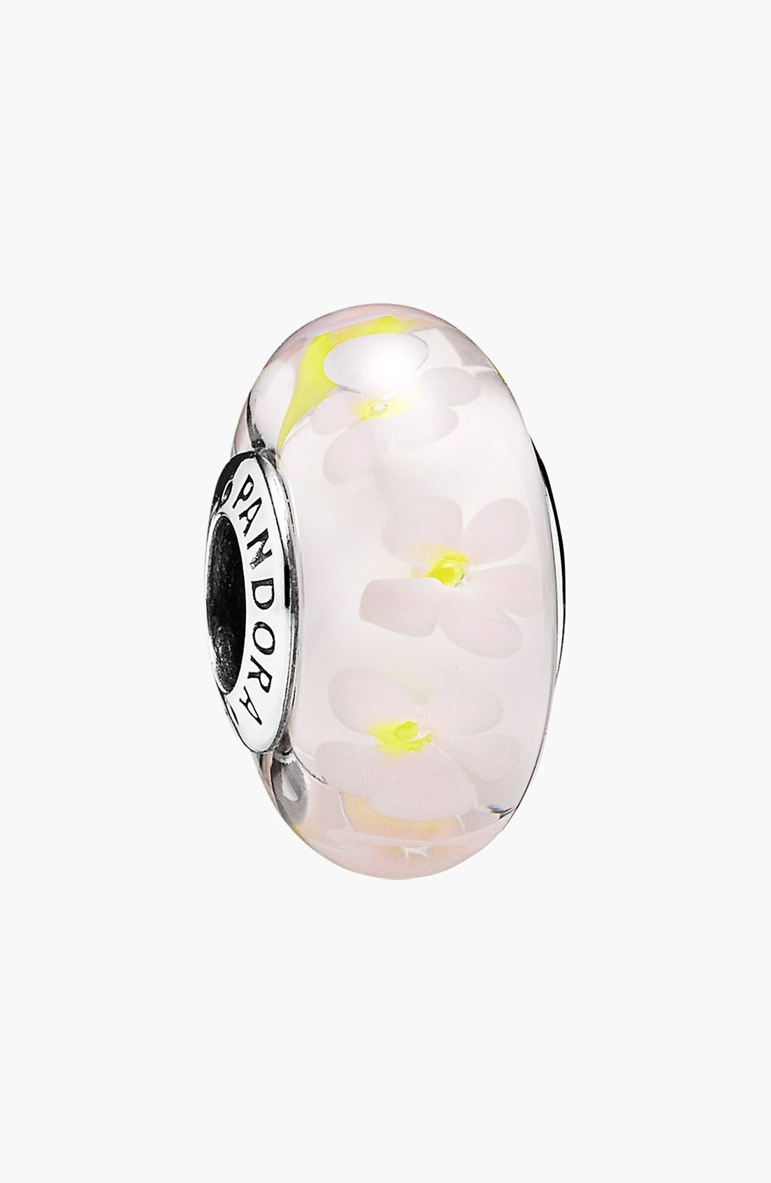Alternate Image 1 Selected - PANDORA 'Field of Daisies' Murano Glass Bead Charm