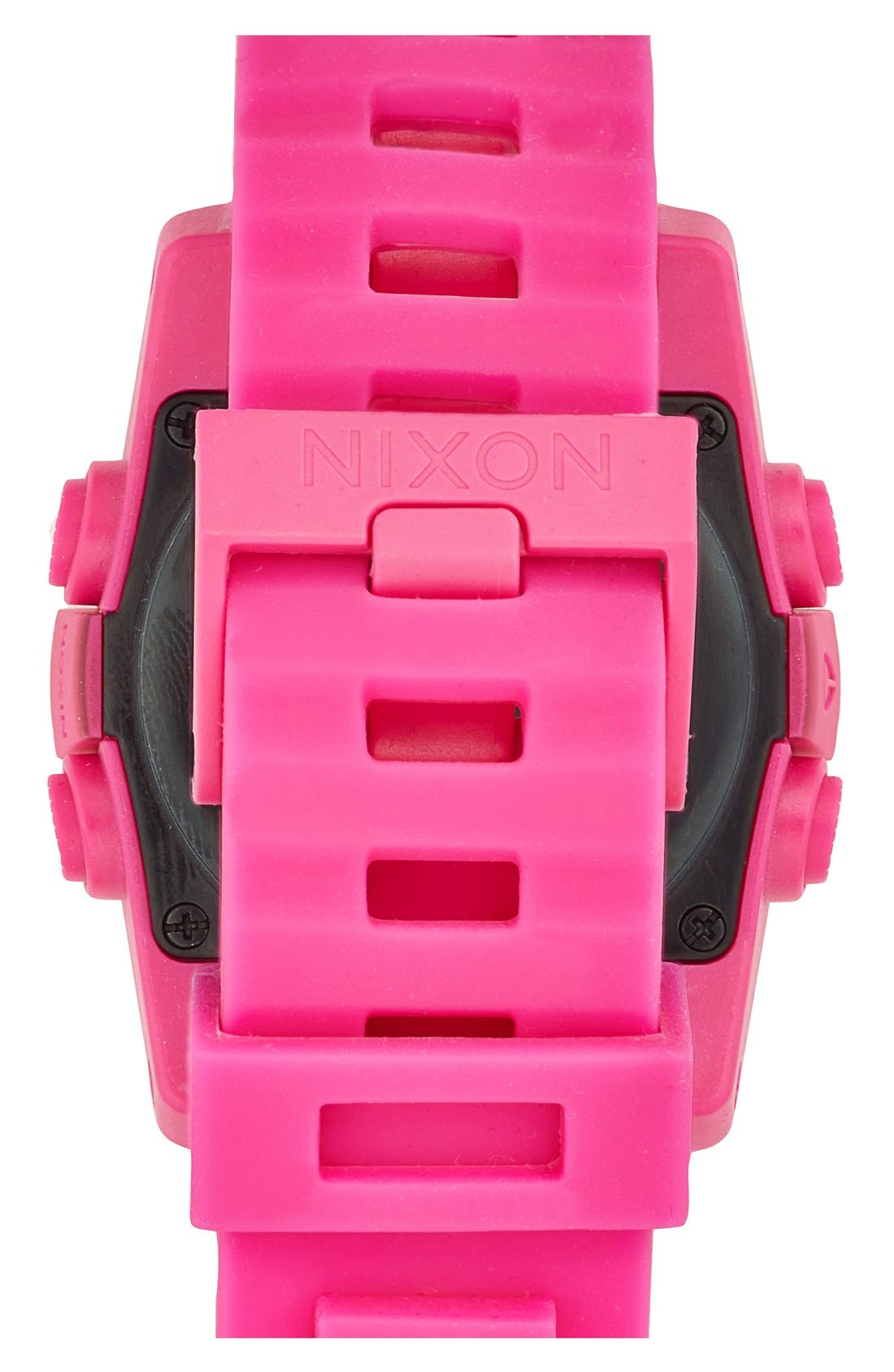 Alternate Image 2  - Nixon 'The Unit 40' Round Digital Watch, 40mm
