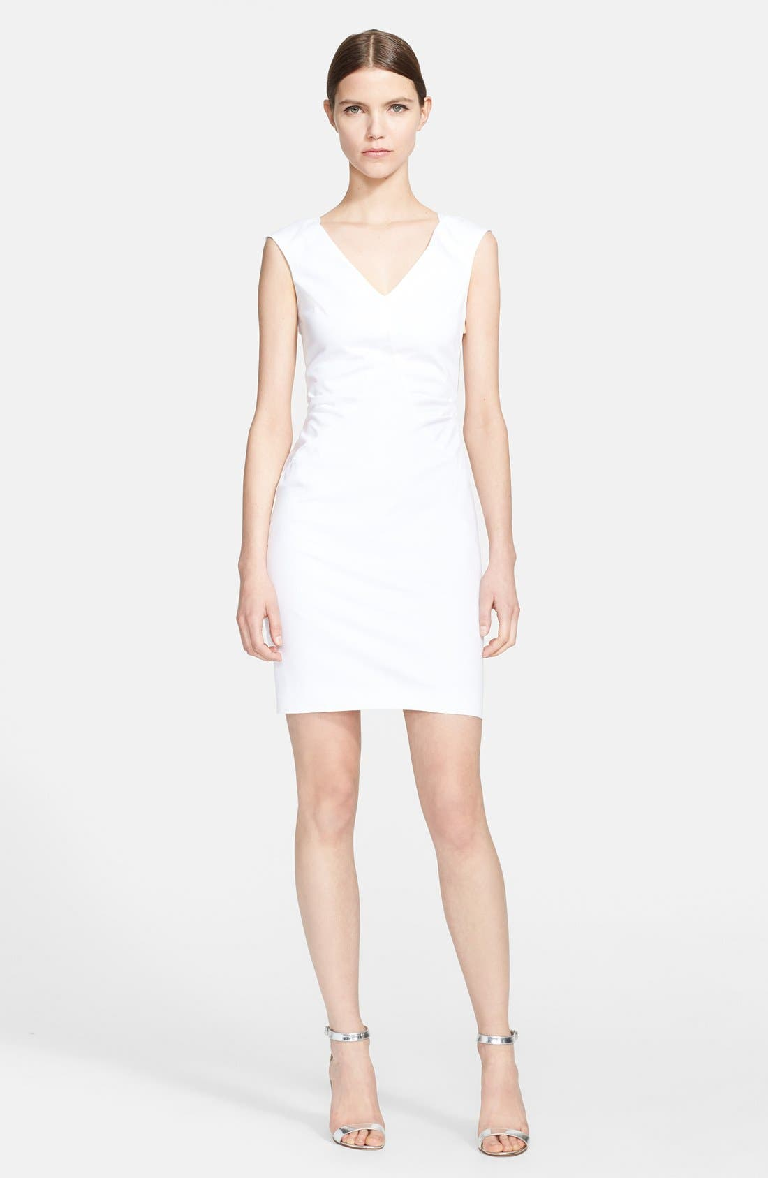 Alternate Image 1 Selected - Emilio Pucci Stretch Cotton Sheath Dress