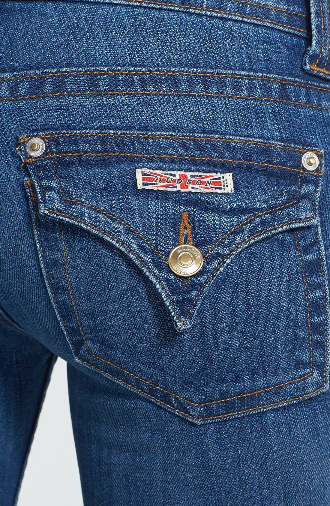 Alternate Image 3  - Hudson Jeans Signature Bootcut Jeans (Watchtower)