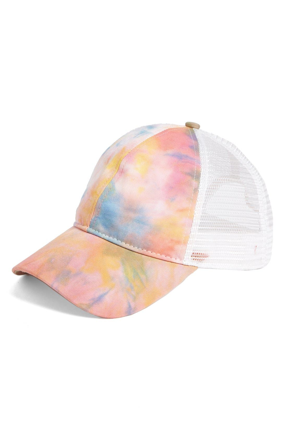 Alternate Image 1 Selected - San Diego Hat Tie Dye Trucker Hat