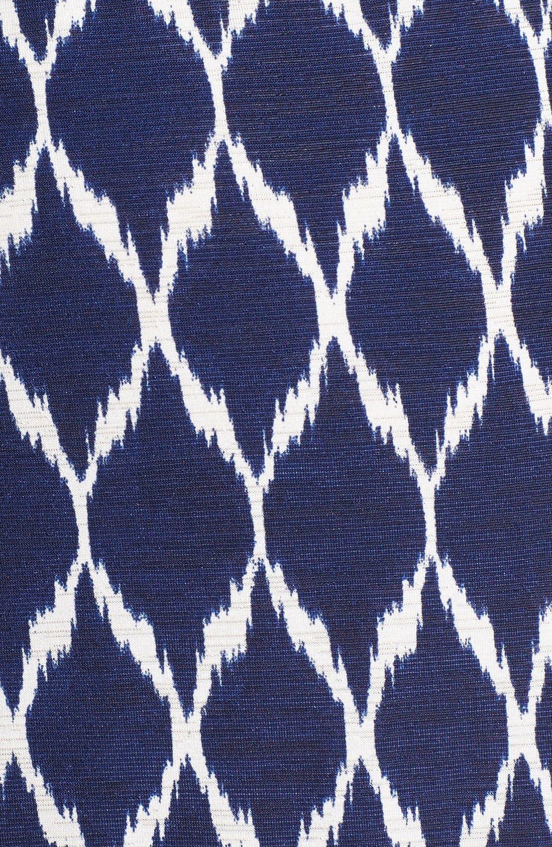 Alternate Image 3  - Robin Piccone Ikat Print Halter Cover-Up Dress