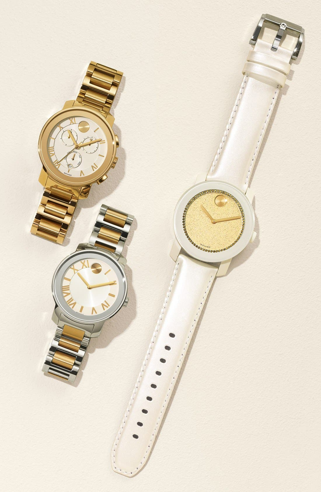 Alternate Image 4  - Movado 'Bold' Chronograph Bracelet Watch, 40mm