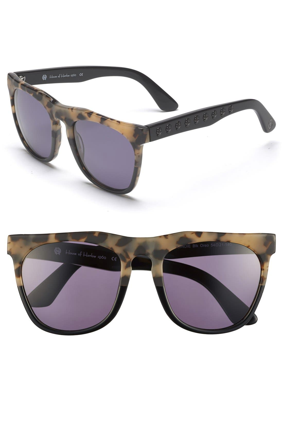 Main Image - House of Harlow 1960 'Blondie' 54mm Sunglasses