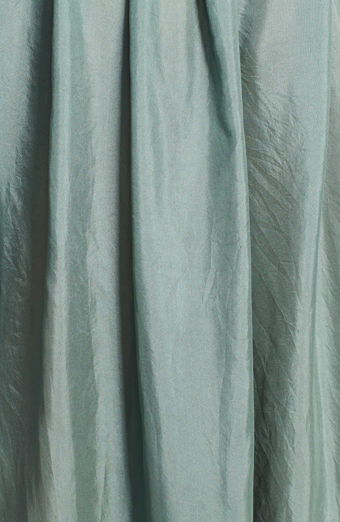 Alternate Image 3  - Donna Karan Collection Silk Wide Leg Cropped Pants