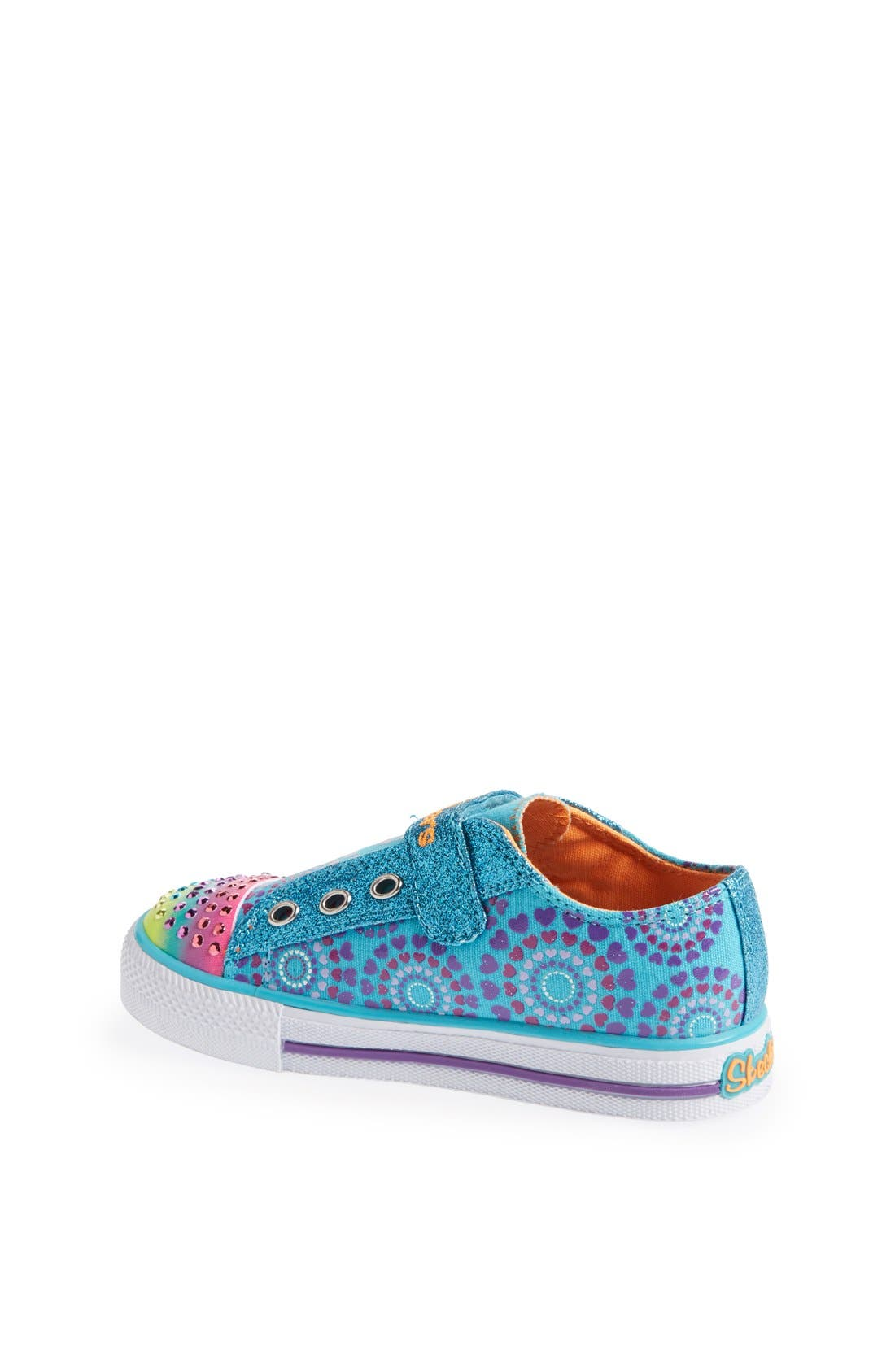 Alternate Image 2  - SKECHERS 'Shuffles - Love Burst' Sneaker (Toddler)