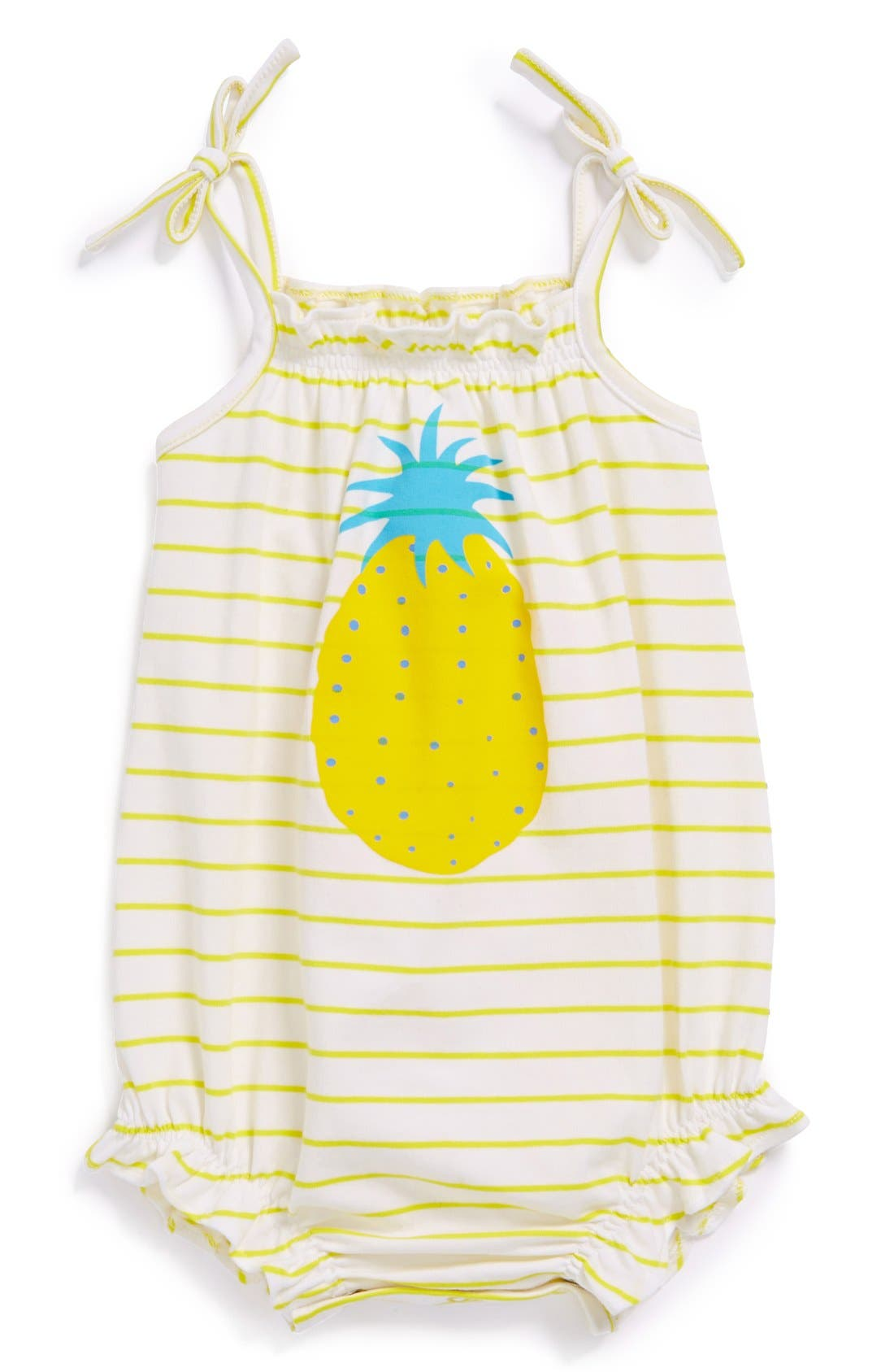 Alternate Image 1 Selected - egg by susan lazar Bubble Romper (Baby Girls)
