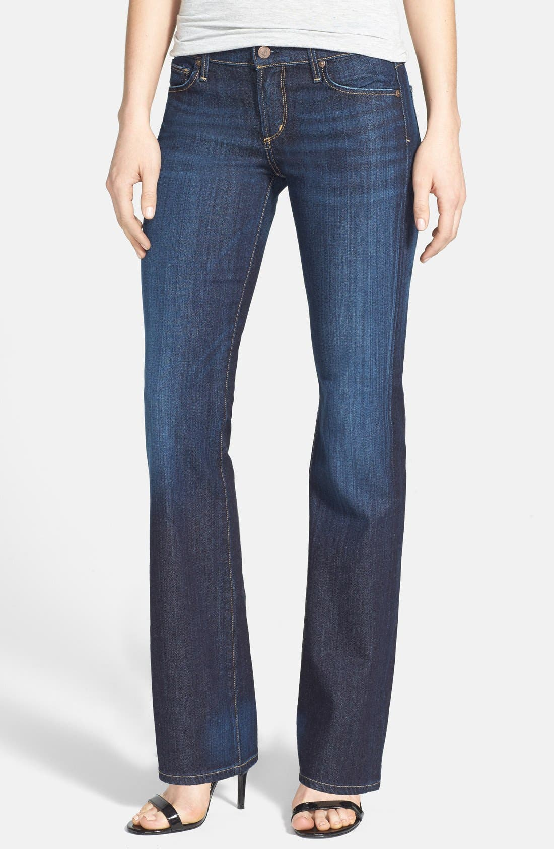 Alternate Image 1 Selected - Citizens of Humanity 'Dita' Bootcut Stretch Jeans (New Pacific) (Petite)