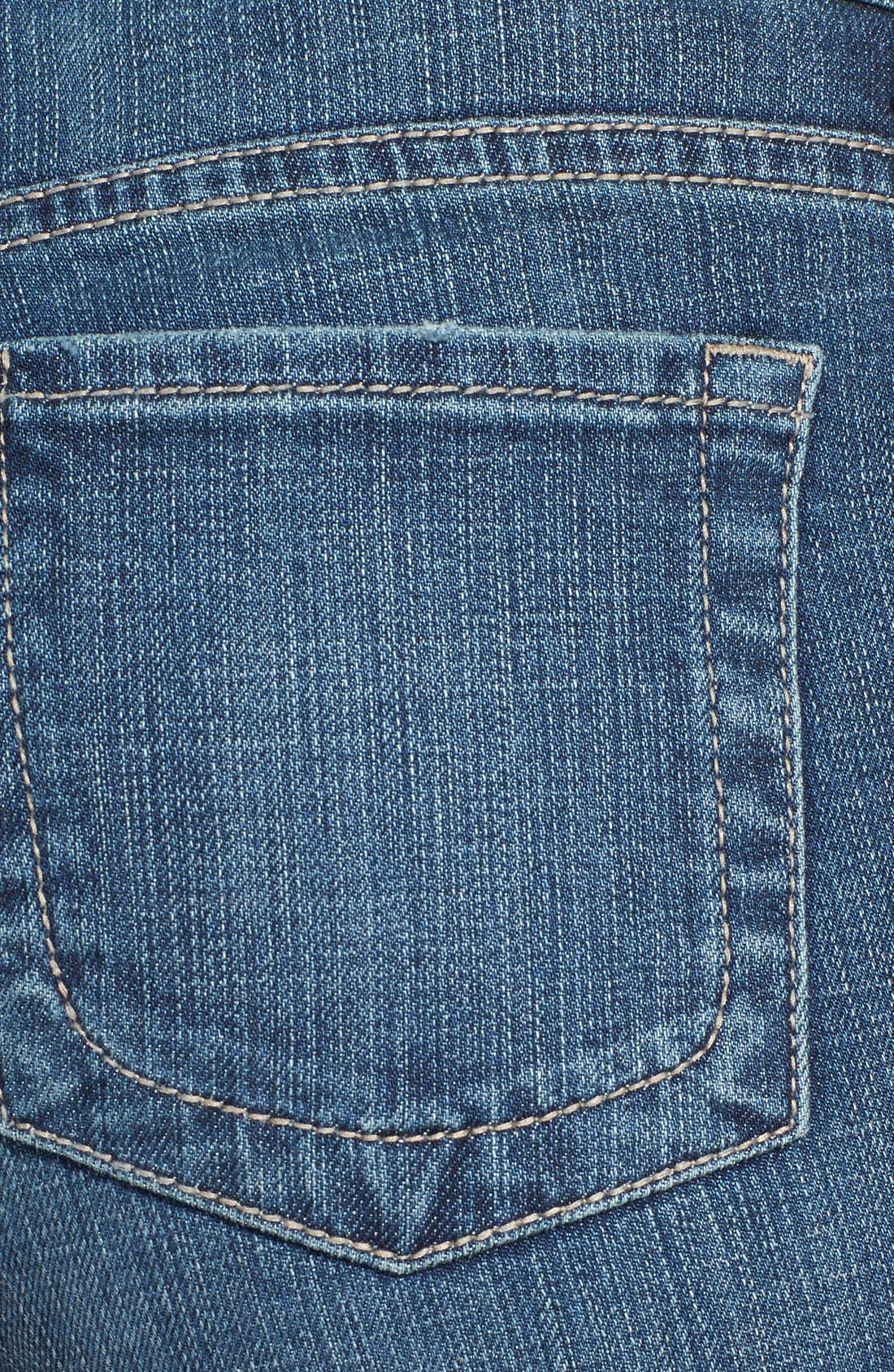 Alternate Image 3  - KUT from the Kloth Embroidered Cutoff Denim Shorts