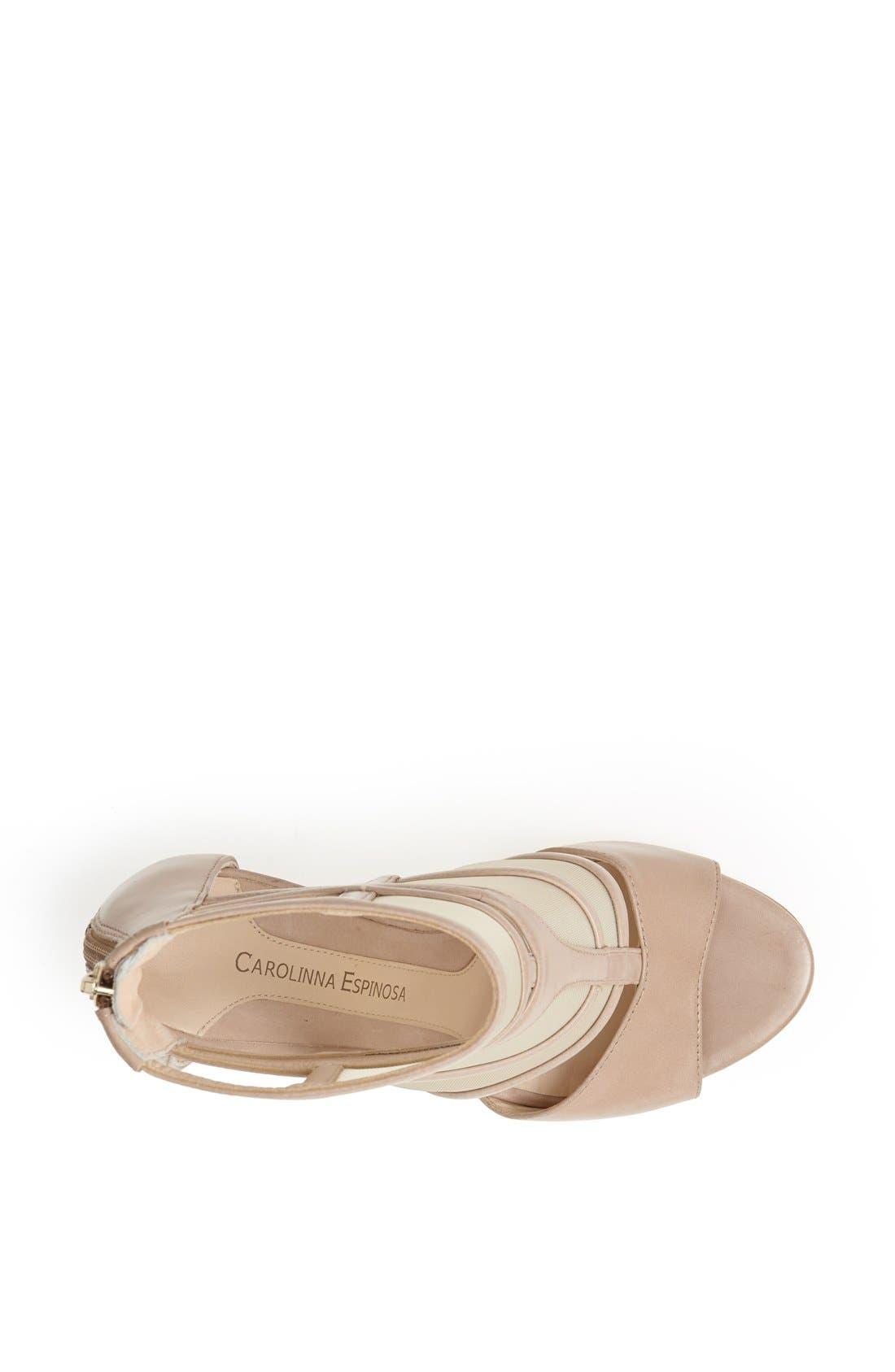 Alternate Image 3  - Carolinna Espinosa 'Sammy' Leather Sandal
