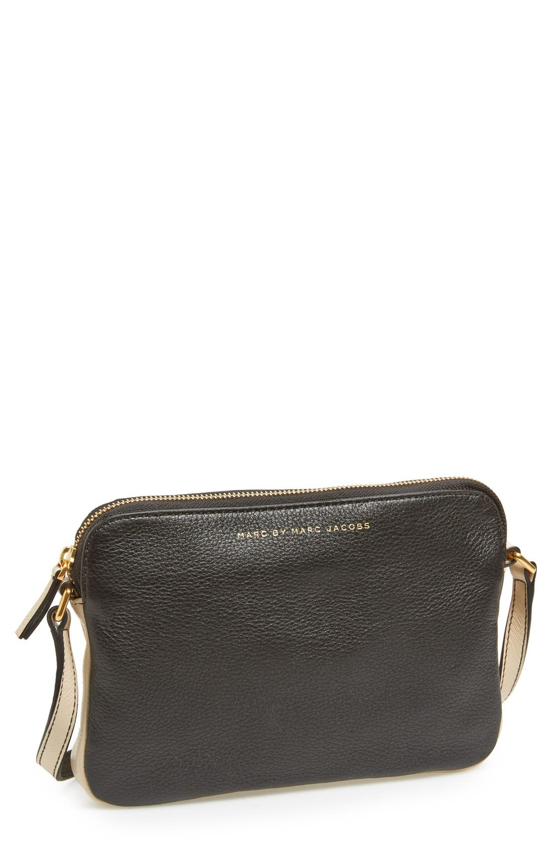 Alternate Image 1 Selected - MARC BY MARC JACOBS 'Sophisticato Dani' Leather Crossbody Bag