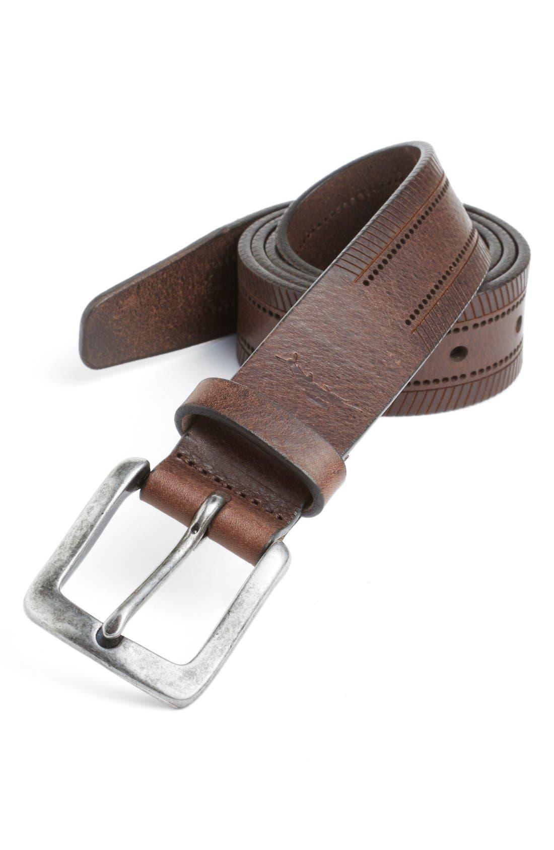 Alternate Image 1 Selected - Tommy Bahama 'Baracuda' Belt