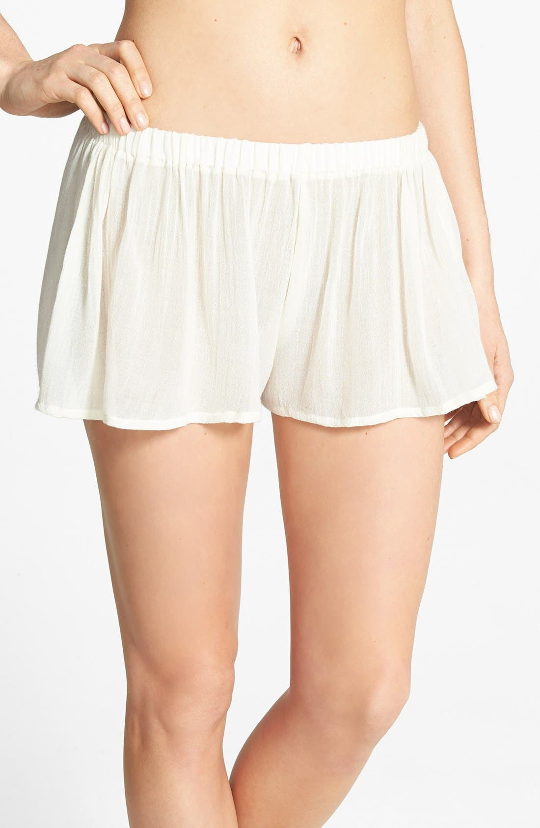 Main Image - Eberjey 'Summer of Love Laurel' Cover-Up Shorts