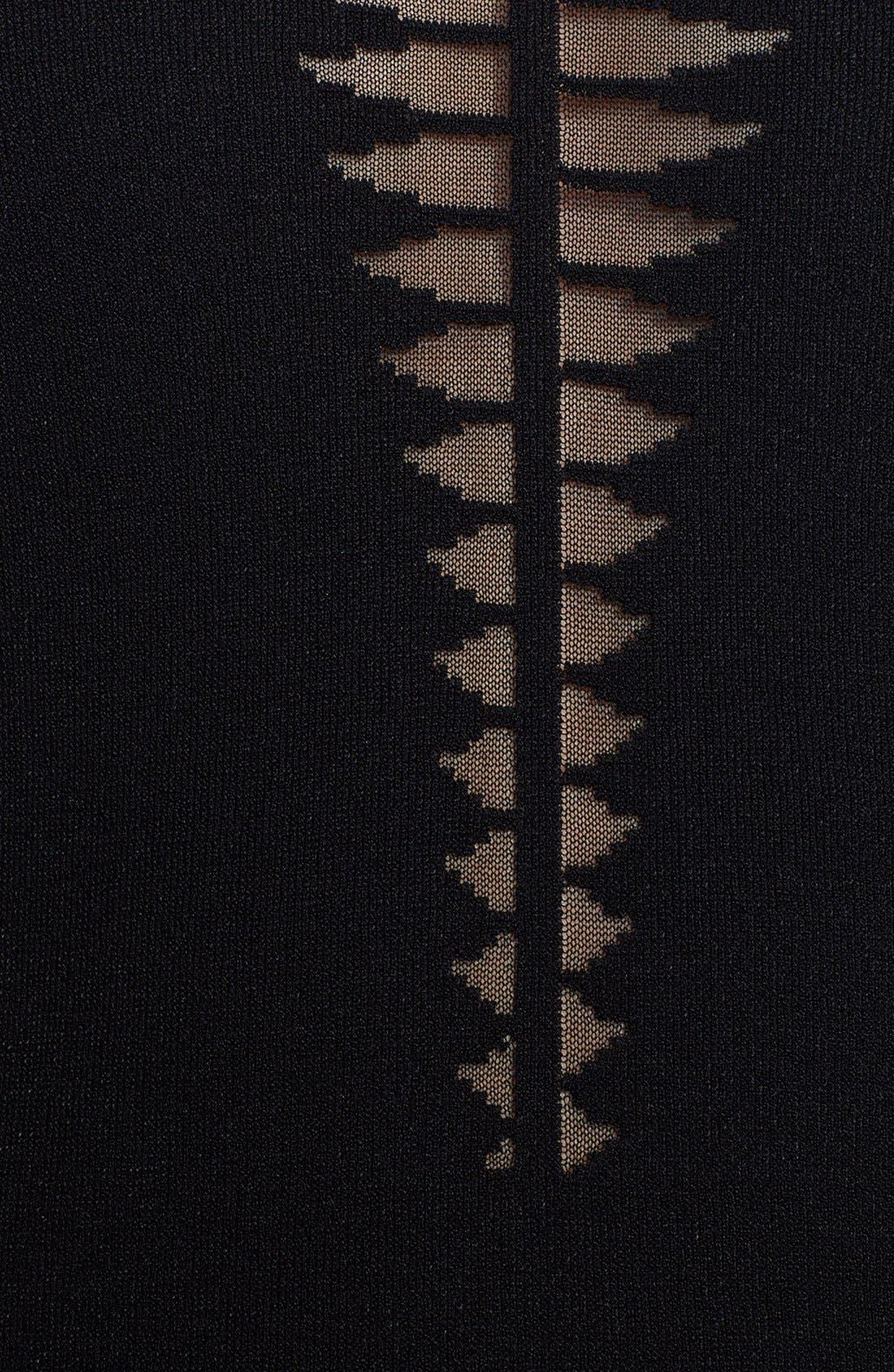 Alternate Image 3  - Alexander McQueen Spine Knit Dress