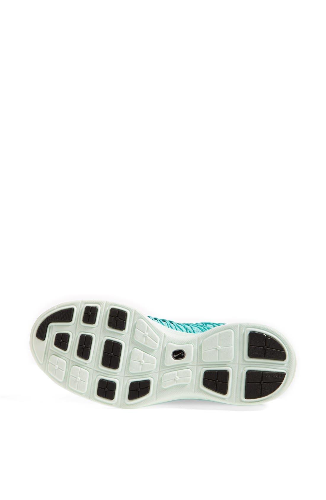 'Lunaracer+ 3' Running Shoe,                             Alternate thumbnail 4, color,                             Hyper Turquoise