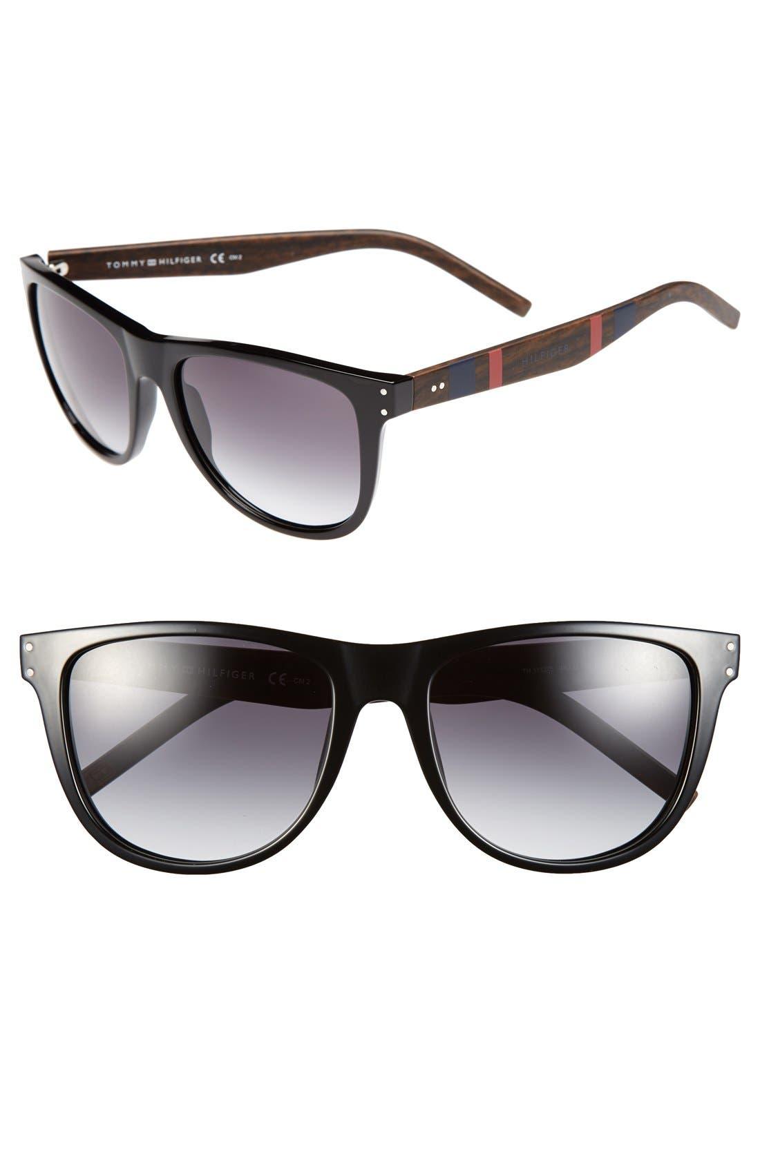 Alternate Image 1 Selected - Tommy Hilfiger 60mm Aviator Sunglasses
