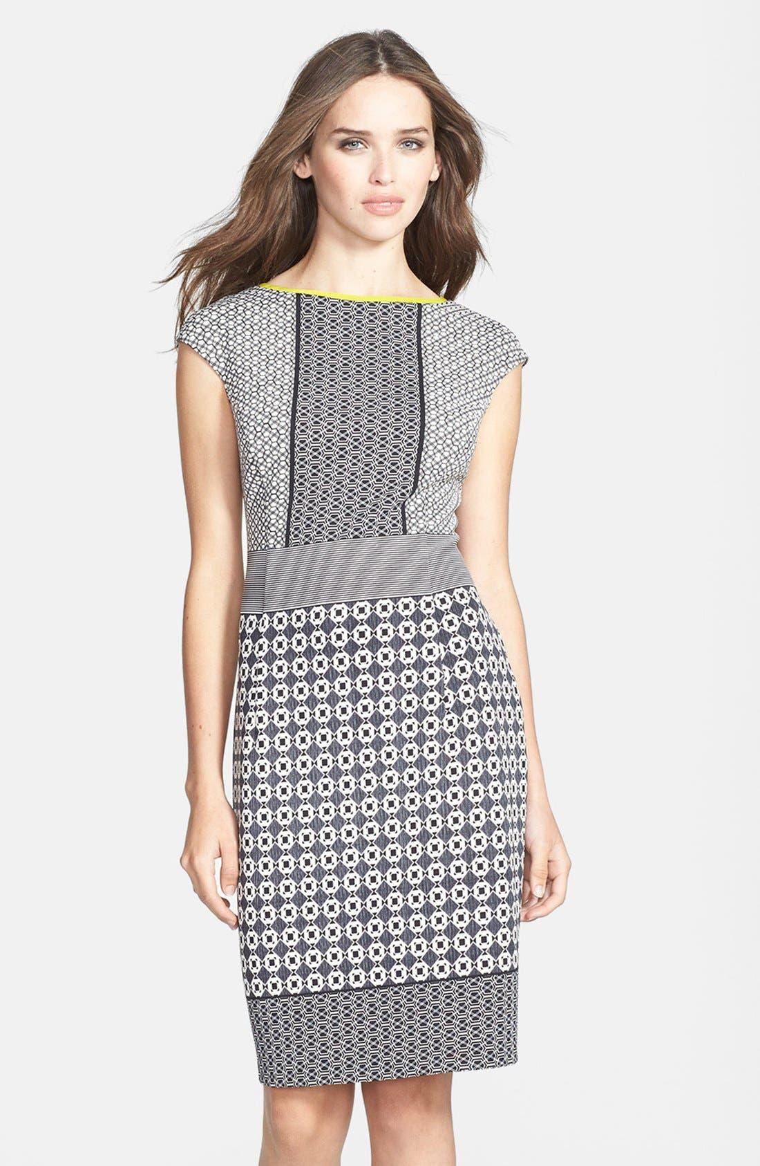 Main Image - Maggy London Scuba Sheath Dress