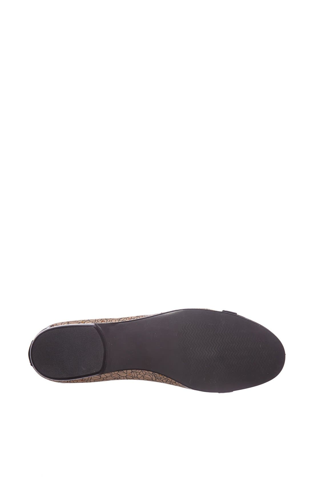 Alternate Image 4  - Icon Footwear Cap Toe Ballet Flat