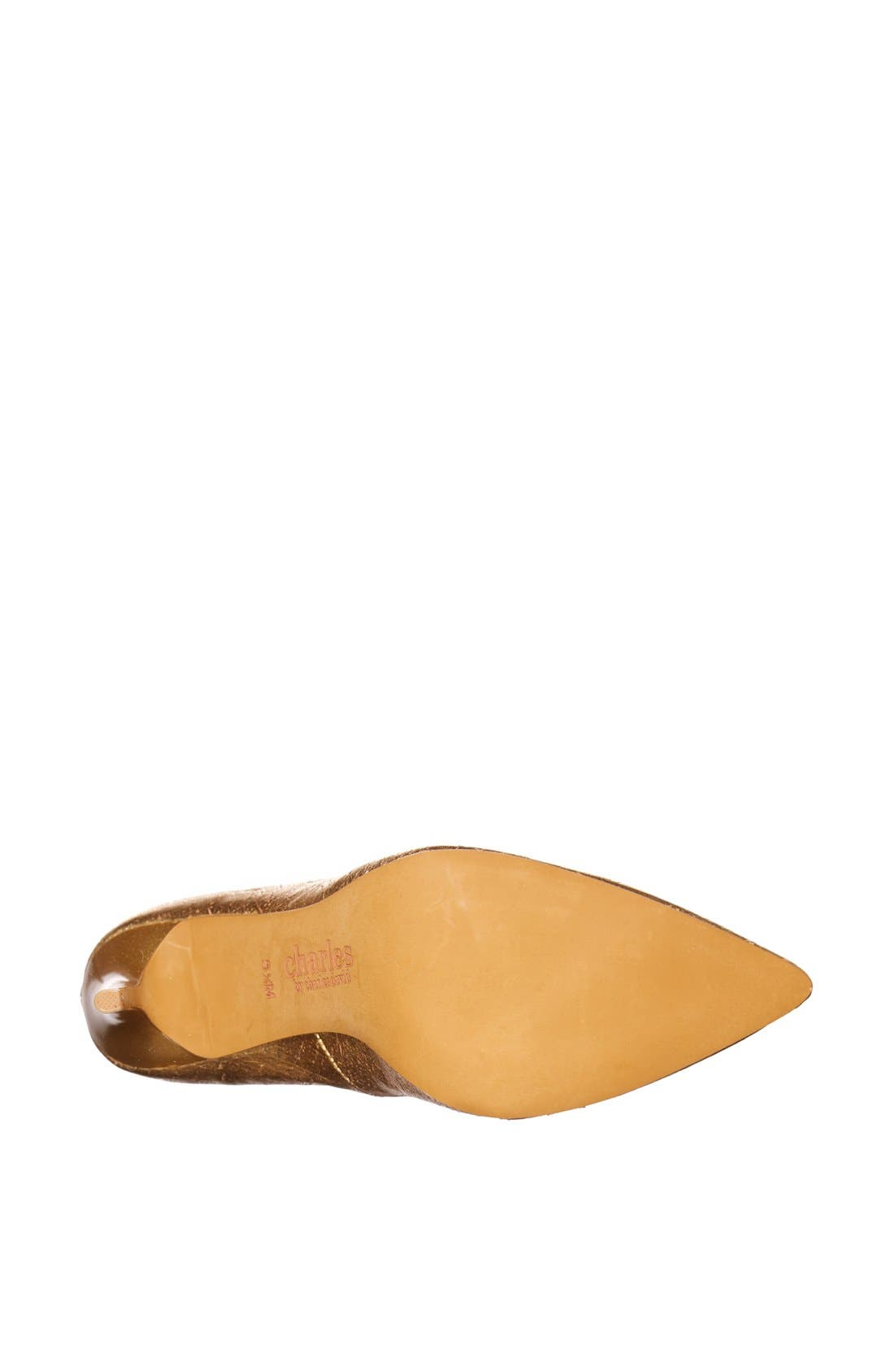 Alternate Image 4  - Charles by Charles David 'Pact 2' Pointy Toe Pump