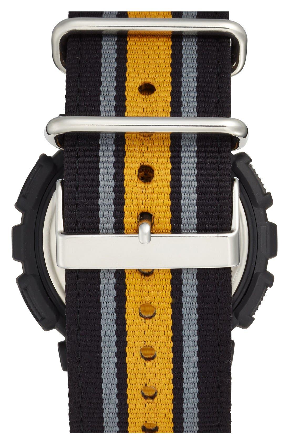 Alternate Image 2  - G-Shock 'XL Ana-Digi' Nylon Strap Watch, 55mm