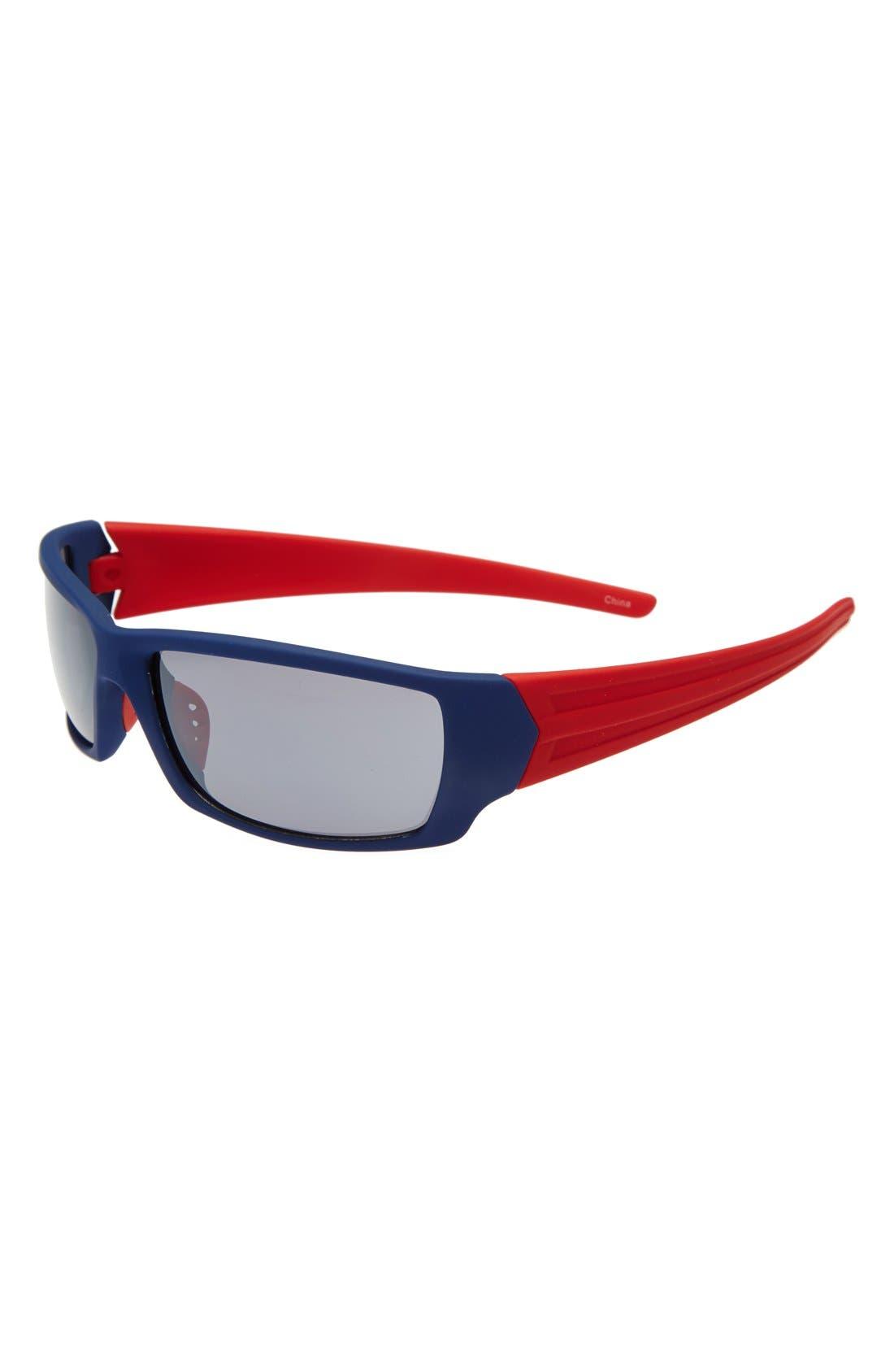 Alternate Image 1 Selected - Icon Eyewear 'Hugh' Two-Tone Rubberized Sunglasses (Boys)