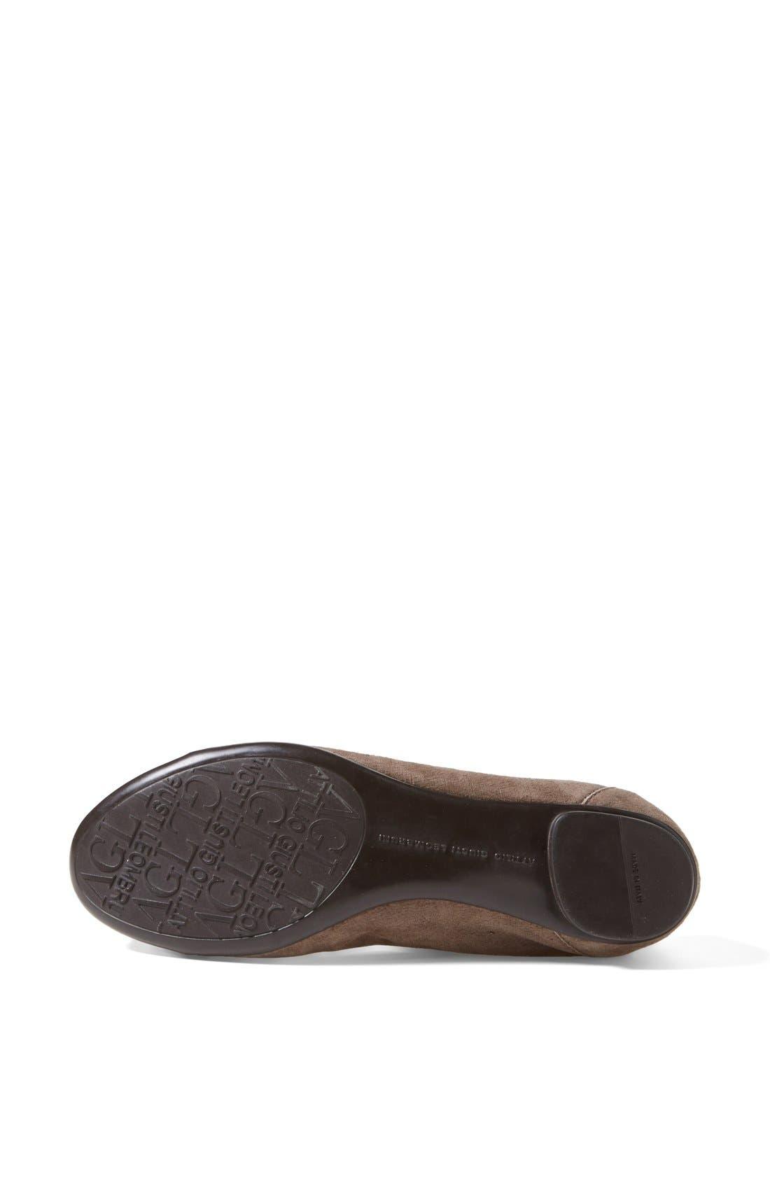 Alternate Image 4  - Attilio Giusti Leombruni 'Bella' Patent & Nappa Leather Ballet Flat