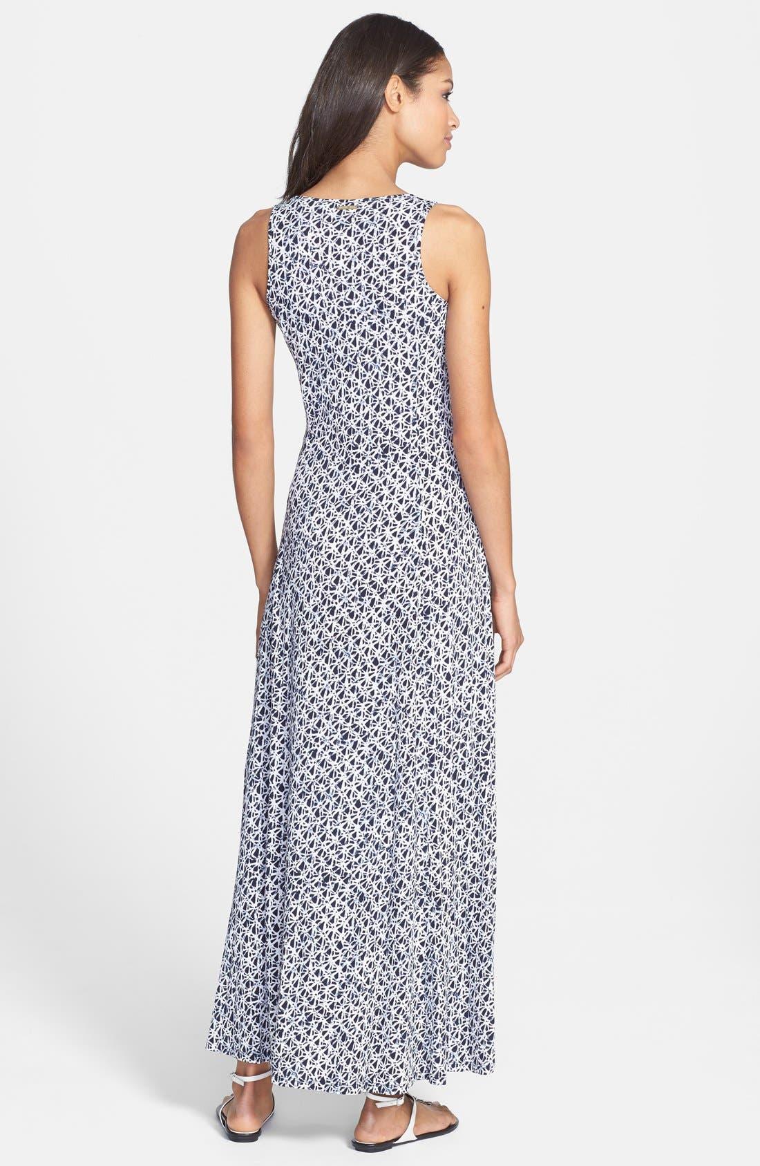 Alternate Image 2  - MICHAEL Michael Kors Print Tank Maxi Dress (Regular & Petite)